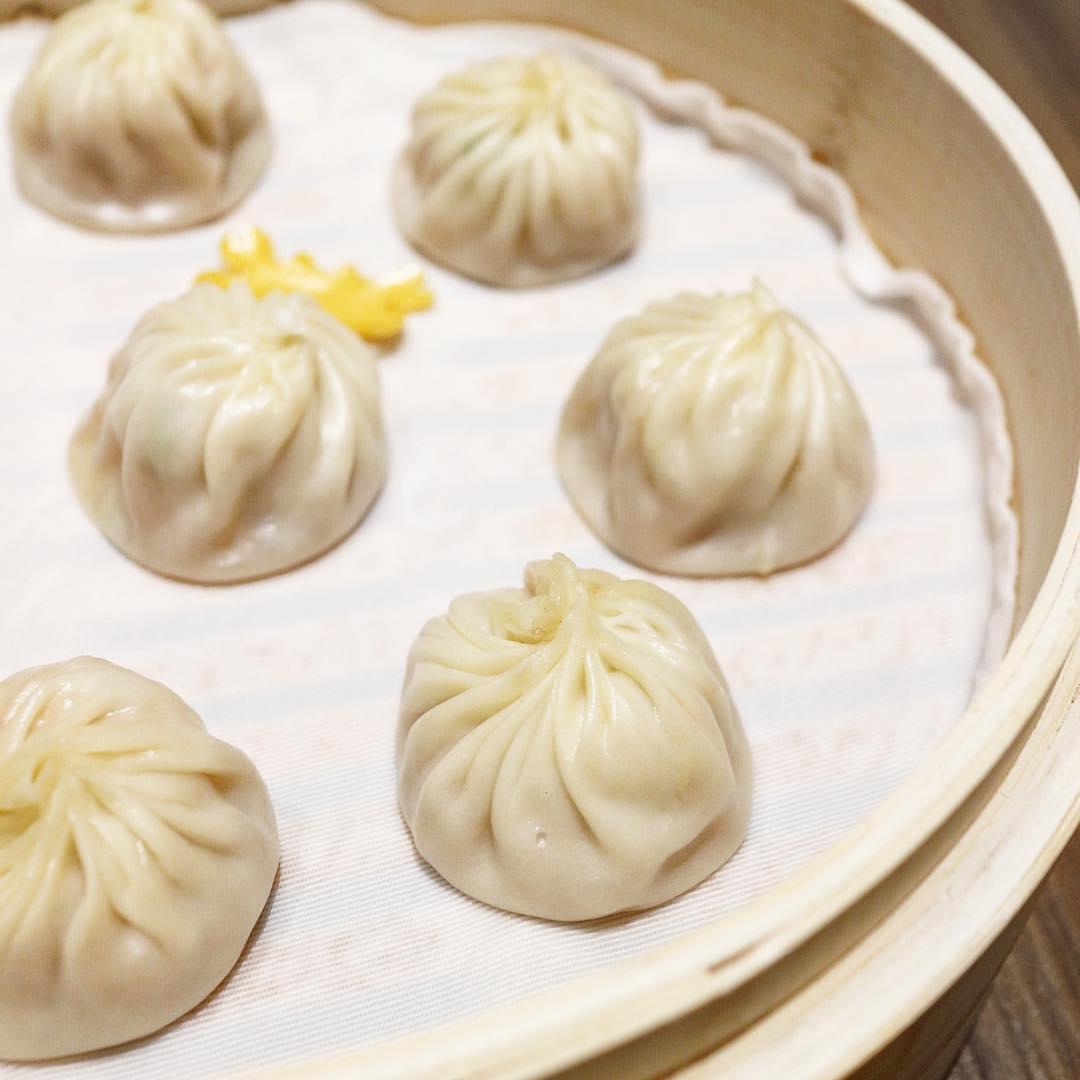Din Tai Fung London restaurant's xiaolongbao soup dumplings