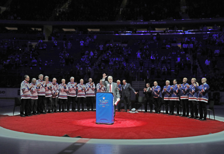 Winnipeg Jets v New York Rangers