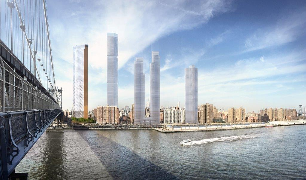 Two Bridges skyscrapers get City Planning approval