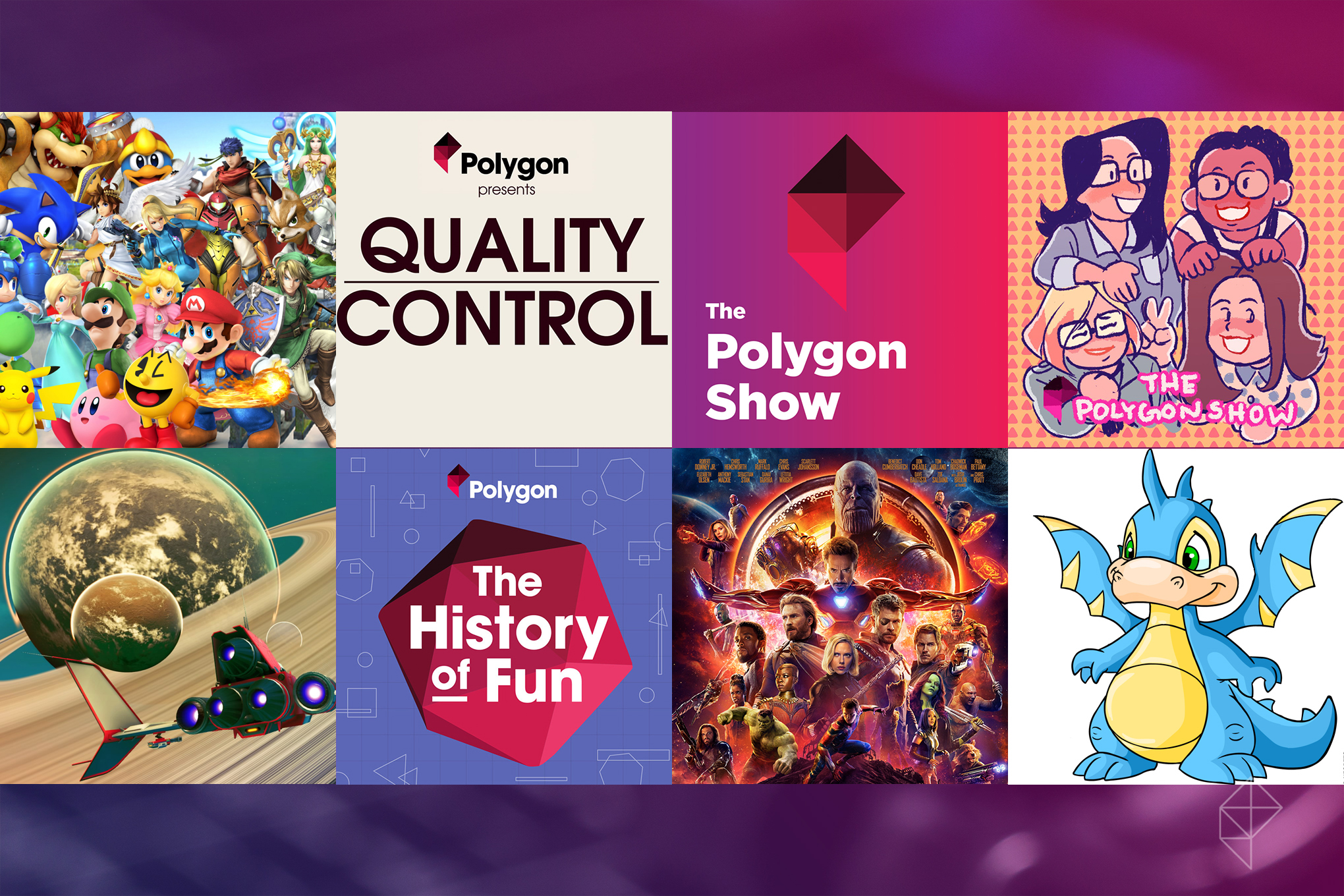 The best Polygon podcasts of 2018