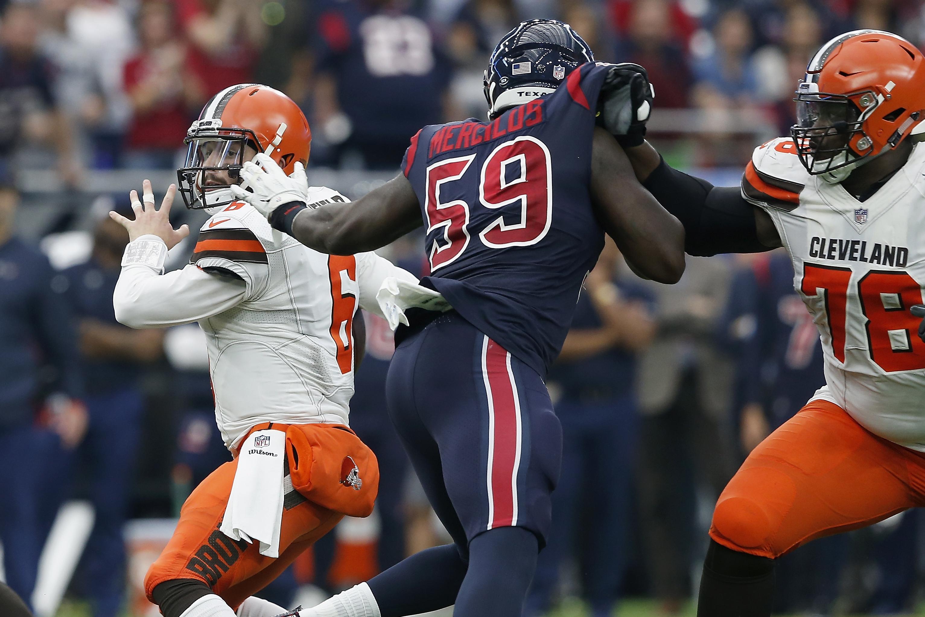 Cleveland Browns v Houston Texans