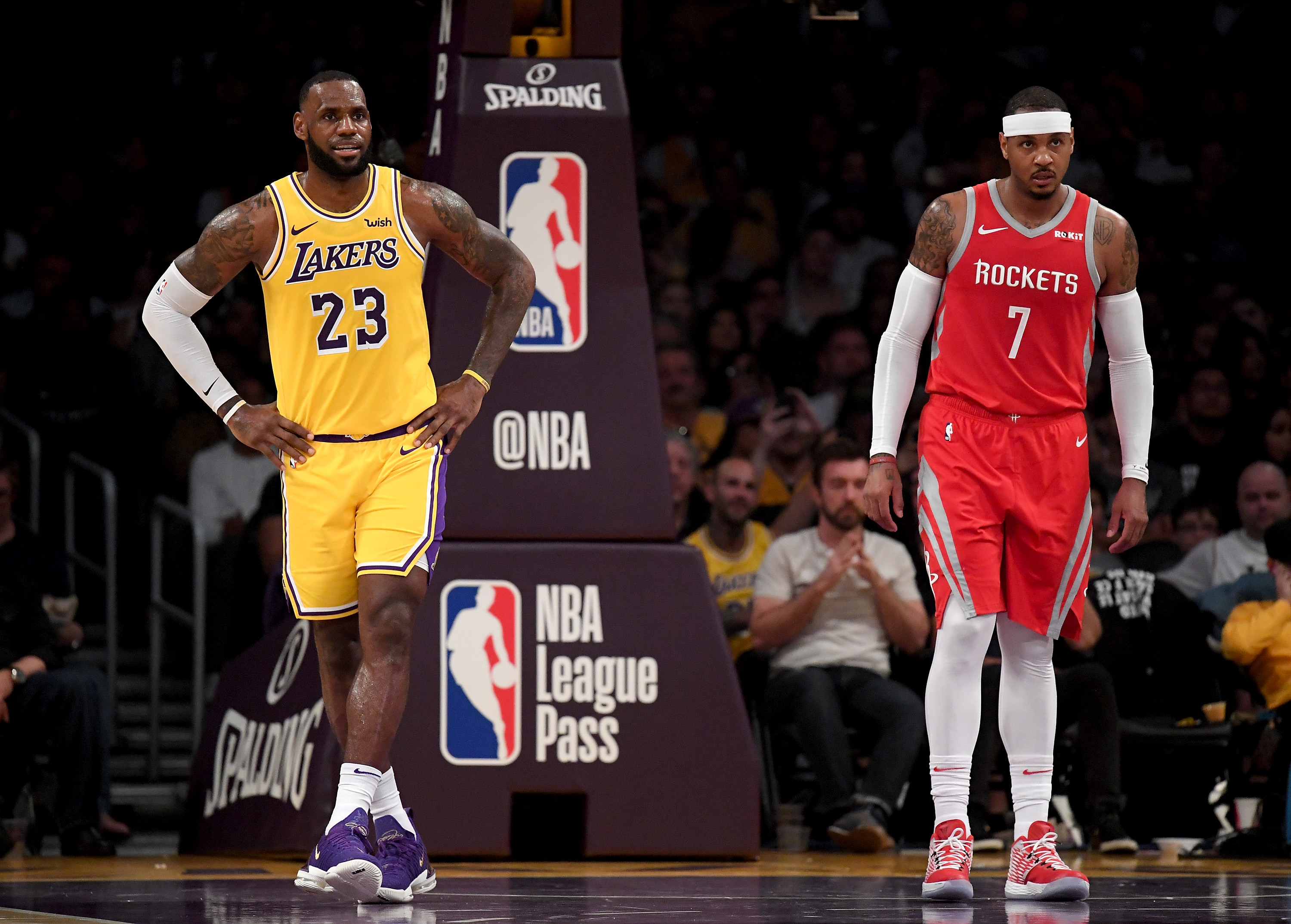 df1b394bfbf LeBron James reportedly wants Carmelo Anthony on the Lakers but hasn t  asked front office to acquire him