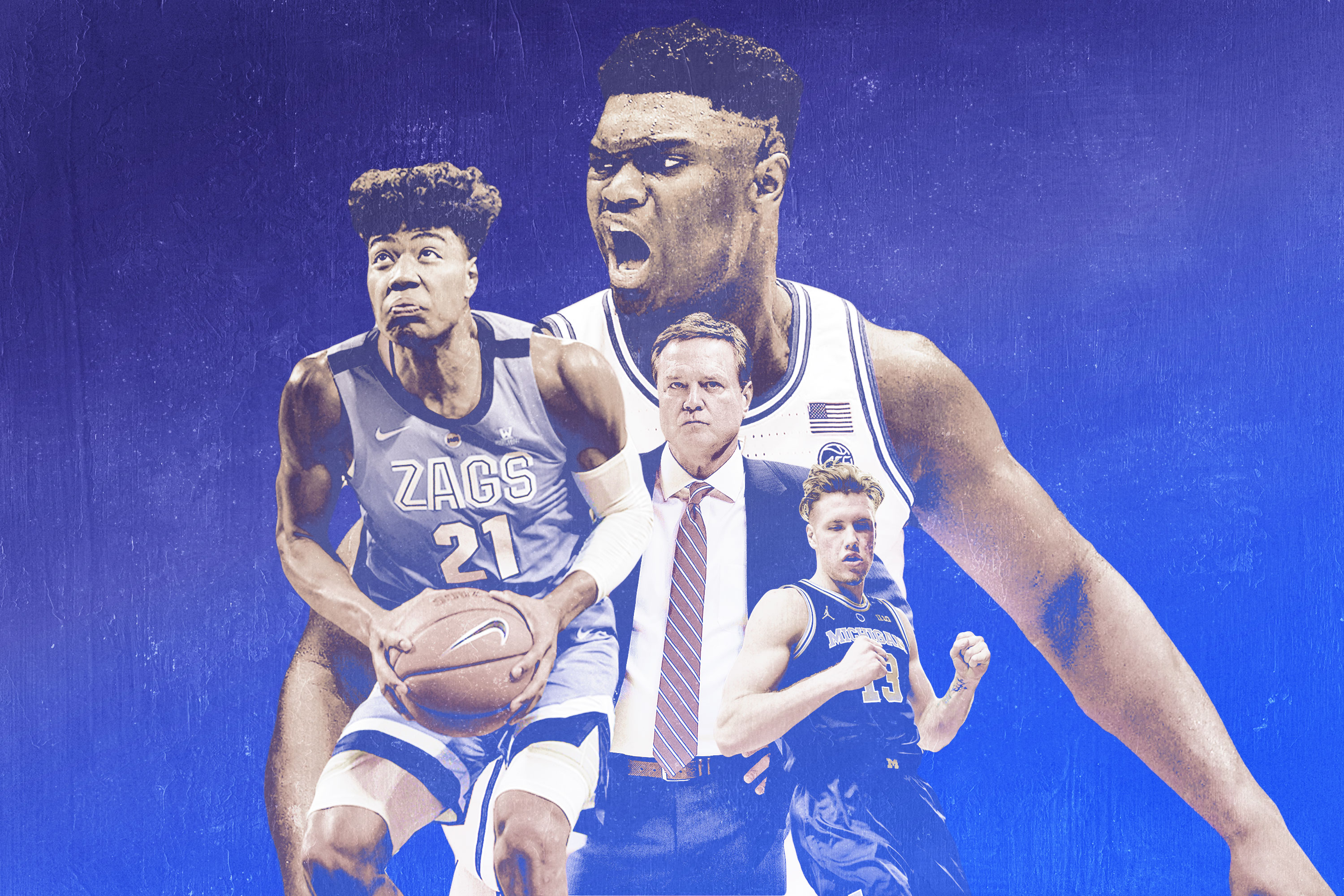 san francisco 7da07 27ebe College Basketball Power Rankings  Duke Is Outflanked by Michigan and  Gonzaga