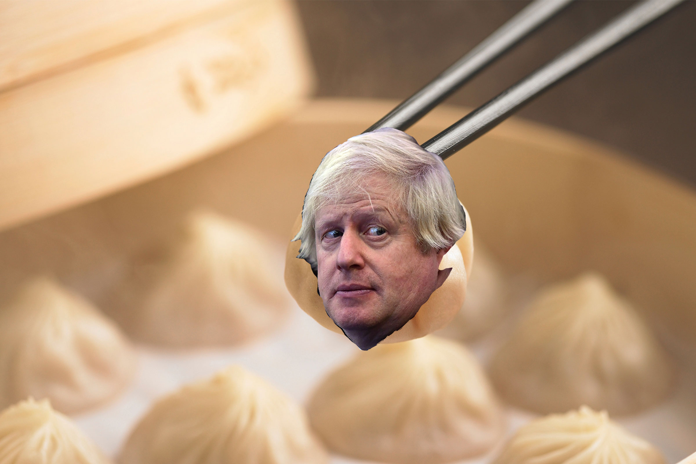 Boris Johnson visited Din Tai Fung's London restaurant opening in support of the Taiwanese dumpling chain