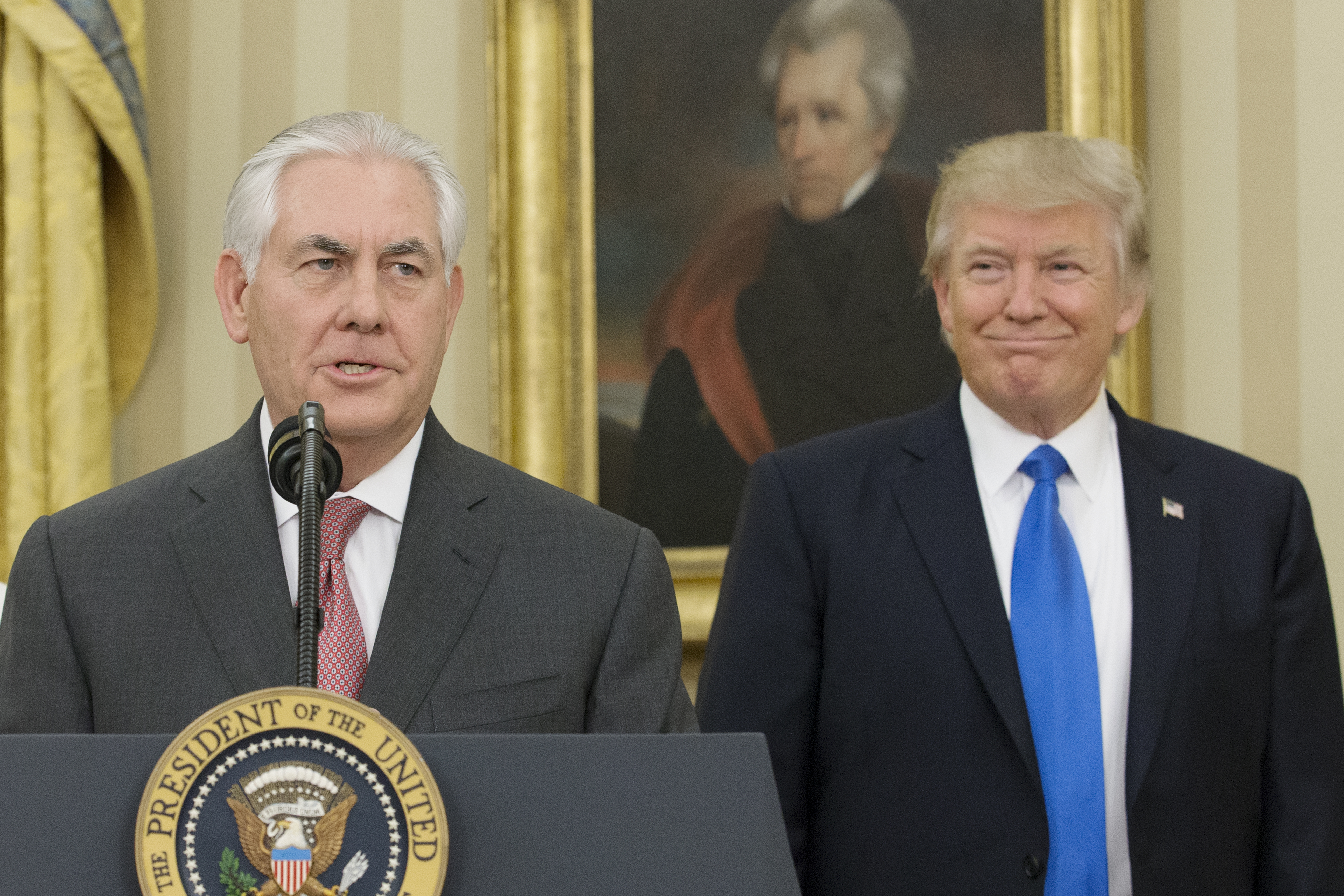 """Trump: Rex Tillerson is """"dumb as a rock"""" and """"lazy as hell"""""""
