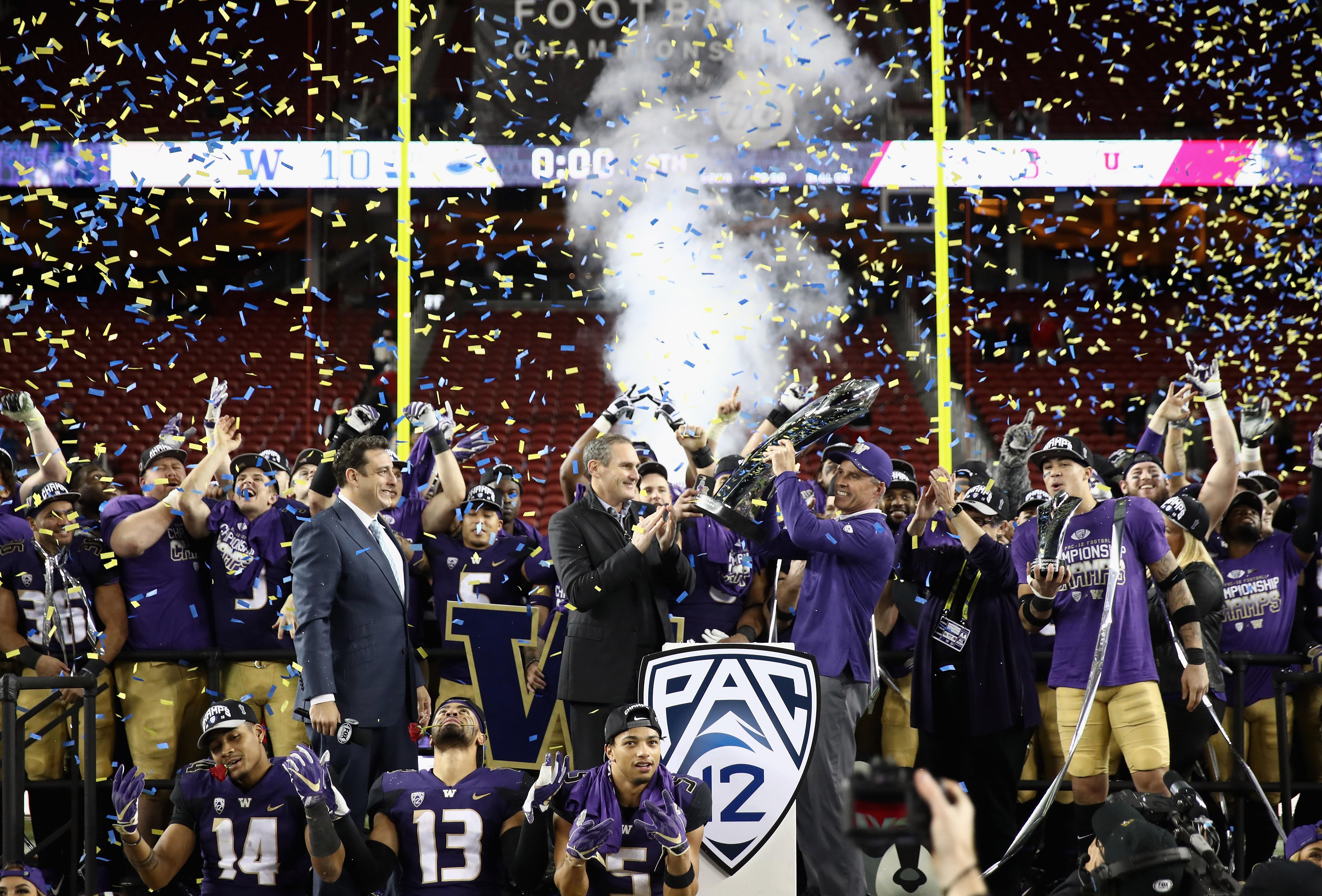 Pac 12 Championship - Utah v Washington