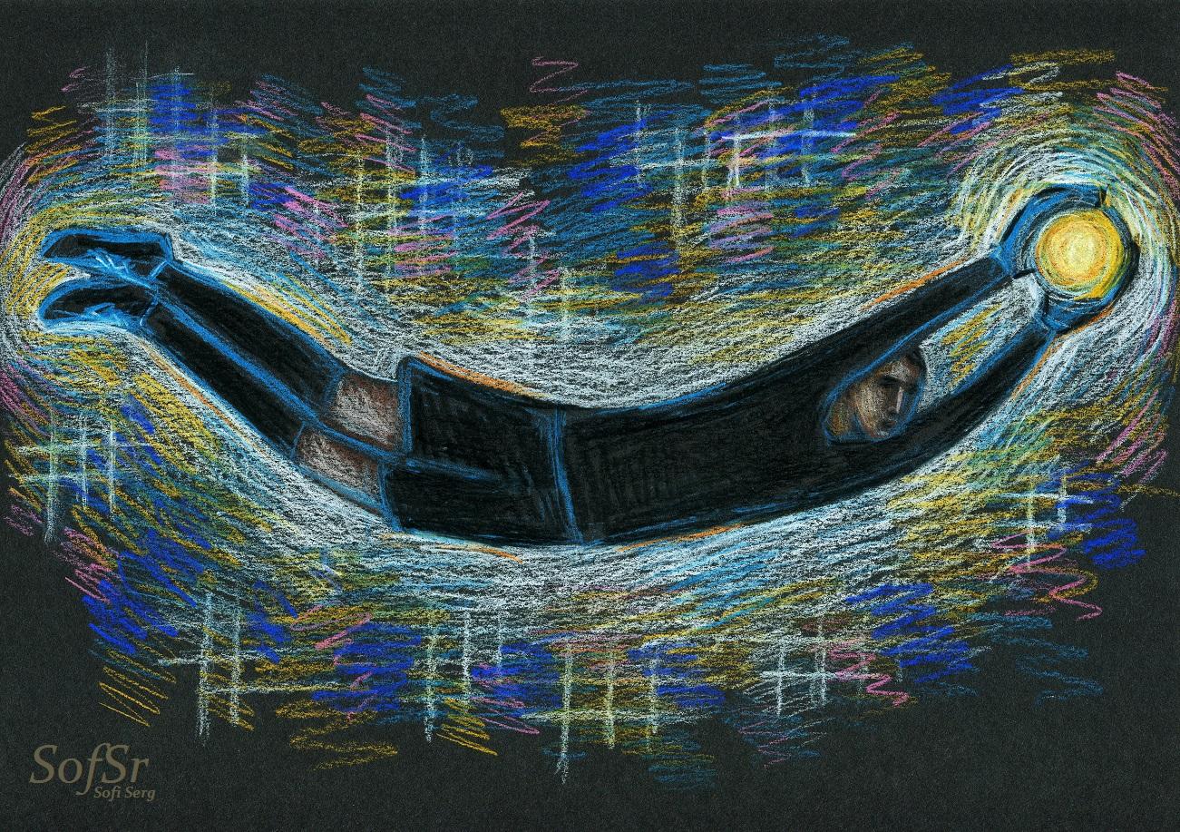 Keylor Navas. Illustration by Sofi Serg.
