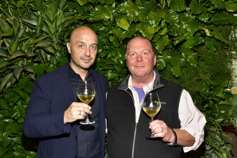 Business partners Joe Bastianich and Mario Batali