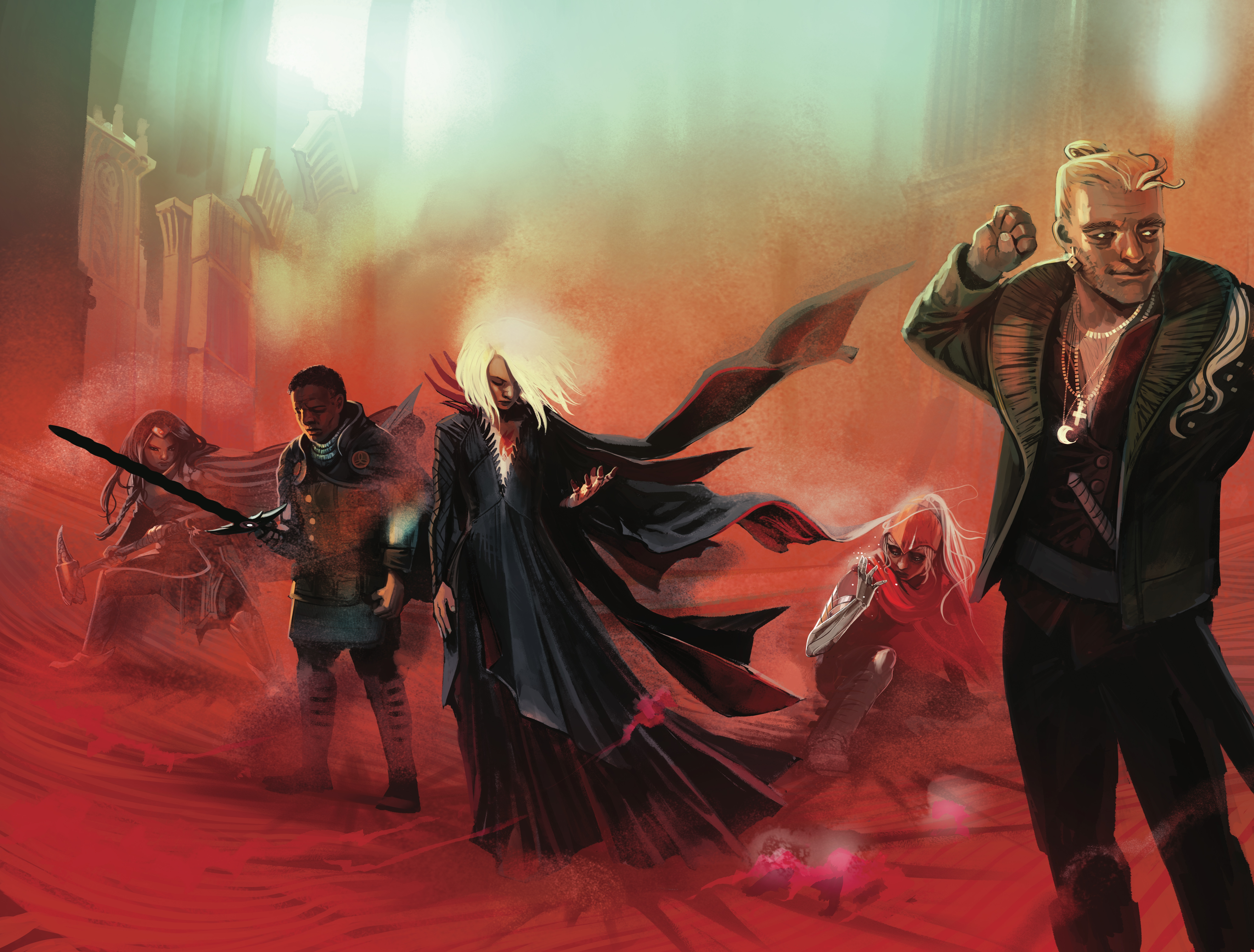 We played Die, the 'Goth Jumanji' game fueling Kieron Gillen's new RPG comic book