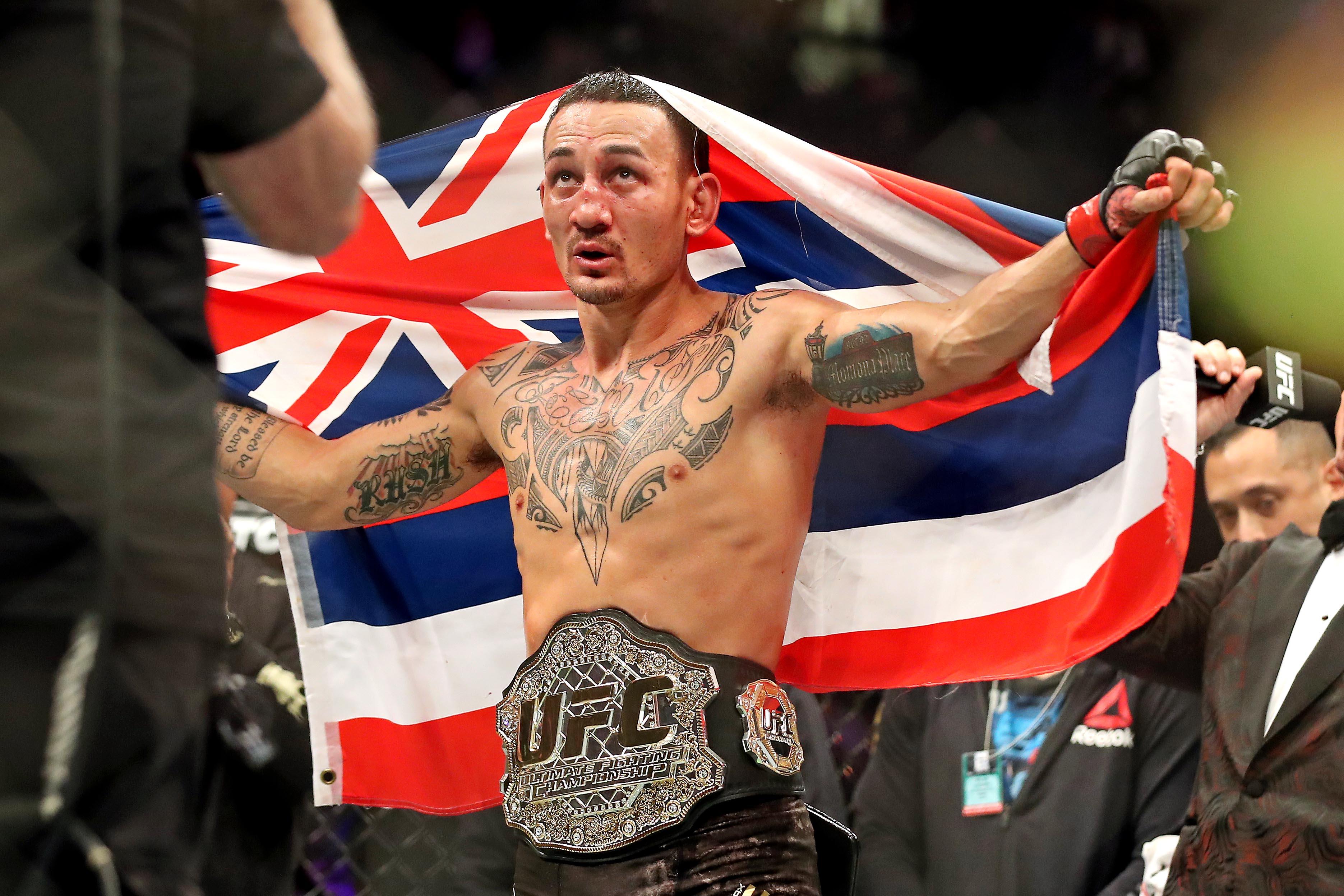 MMA: UFC 231-Holloway vs Ortega