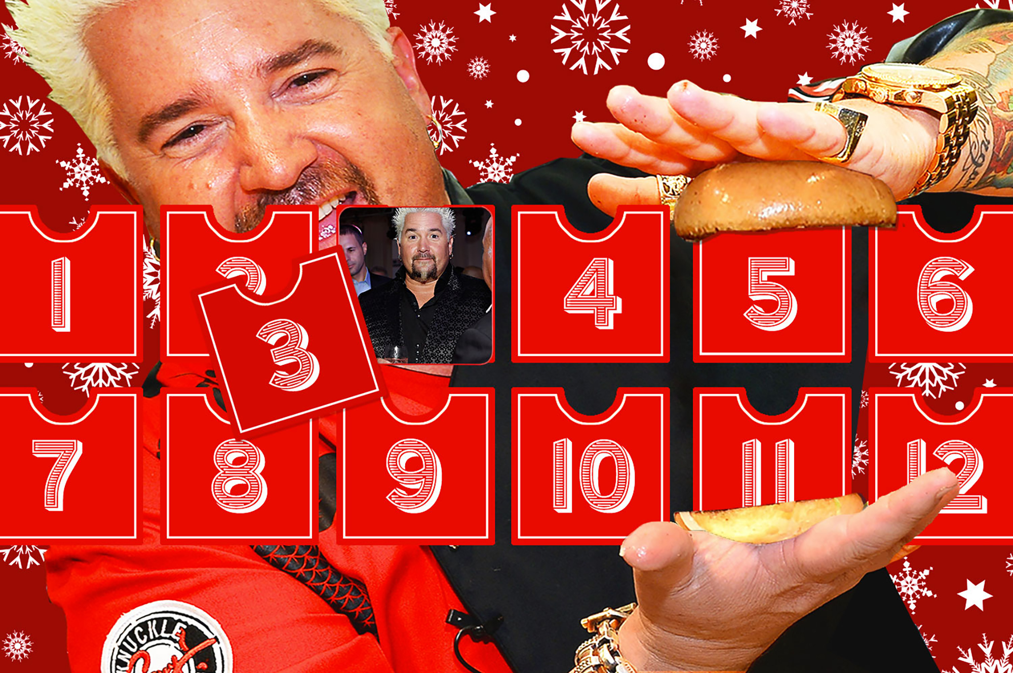 The 12 Days of Guy Fieri: How 'Triple D' Was Born