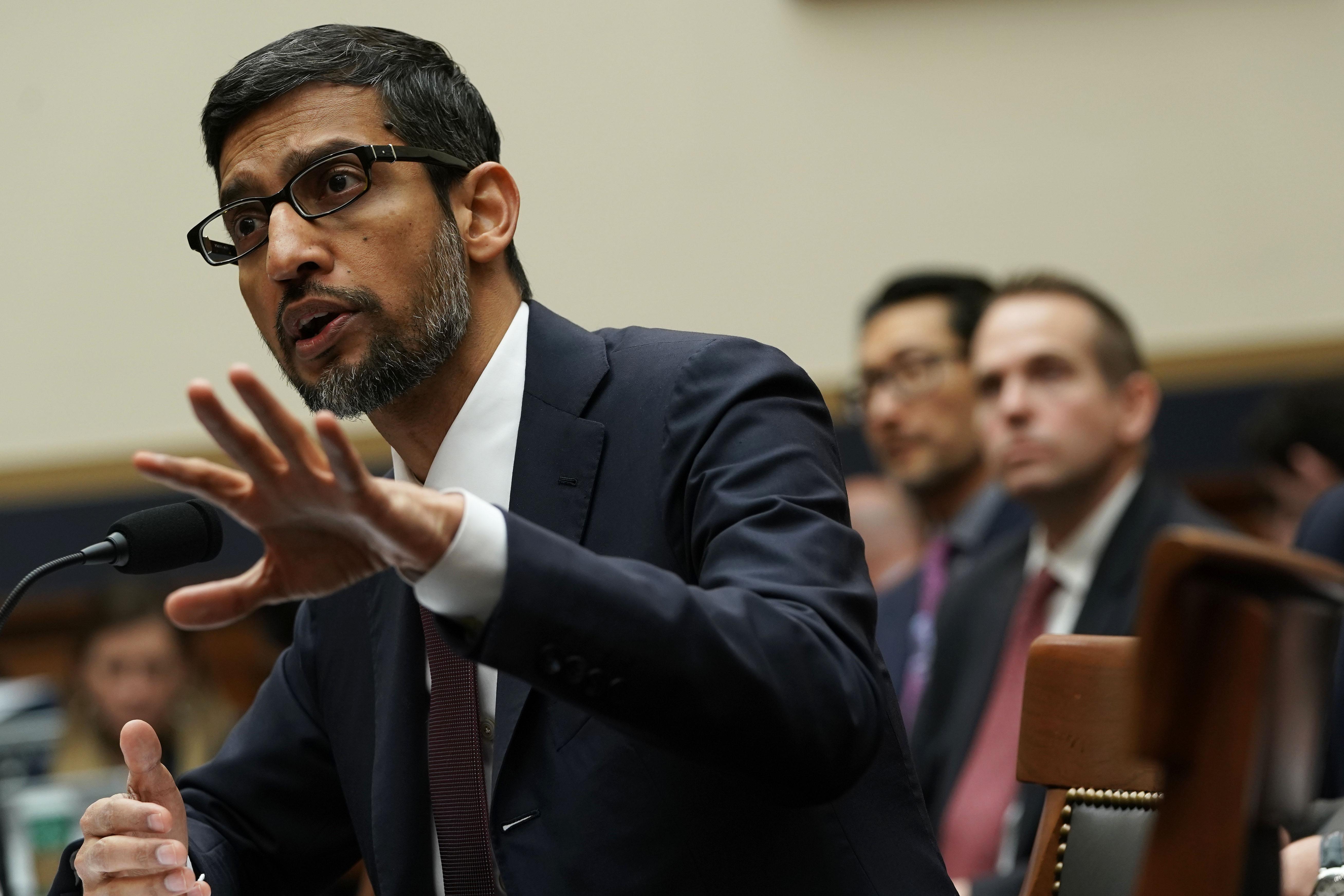 Google CEO Sundar Pichai Testifies Before House Judiciary Committee