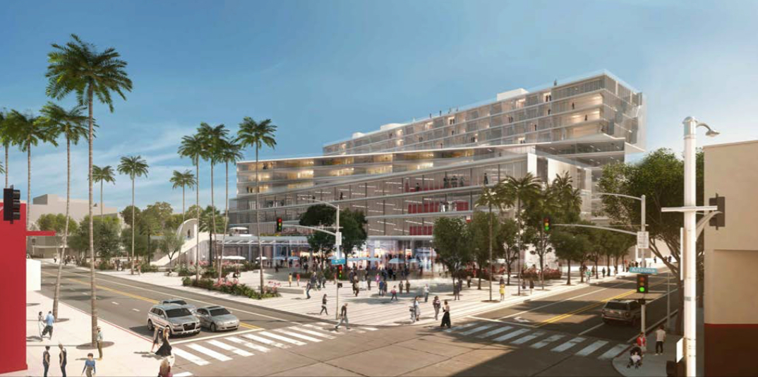 Plaza at Santa Monica redesign