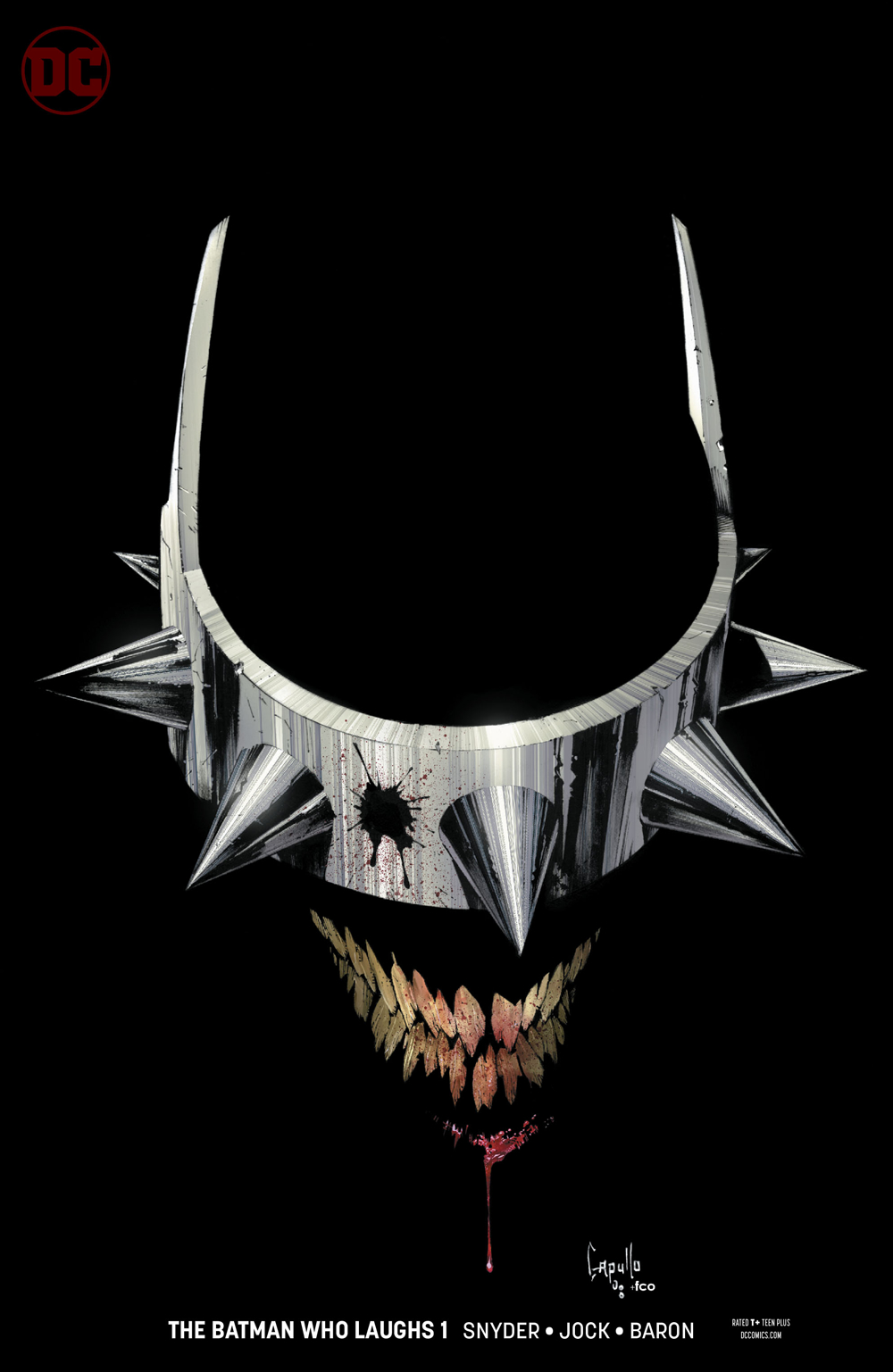 The Batman Who Laughs is back, and he brought a new Nightmare Batman