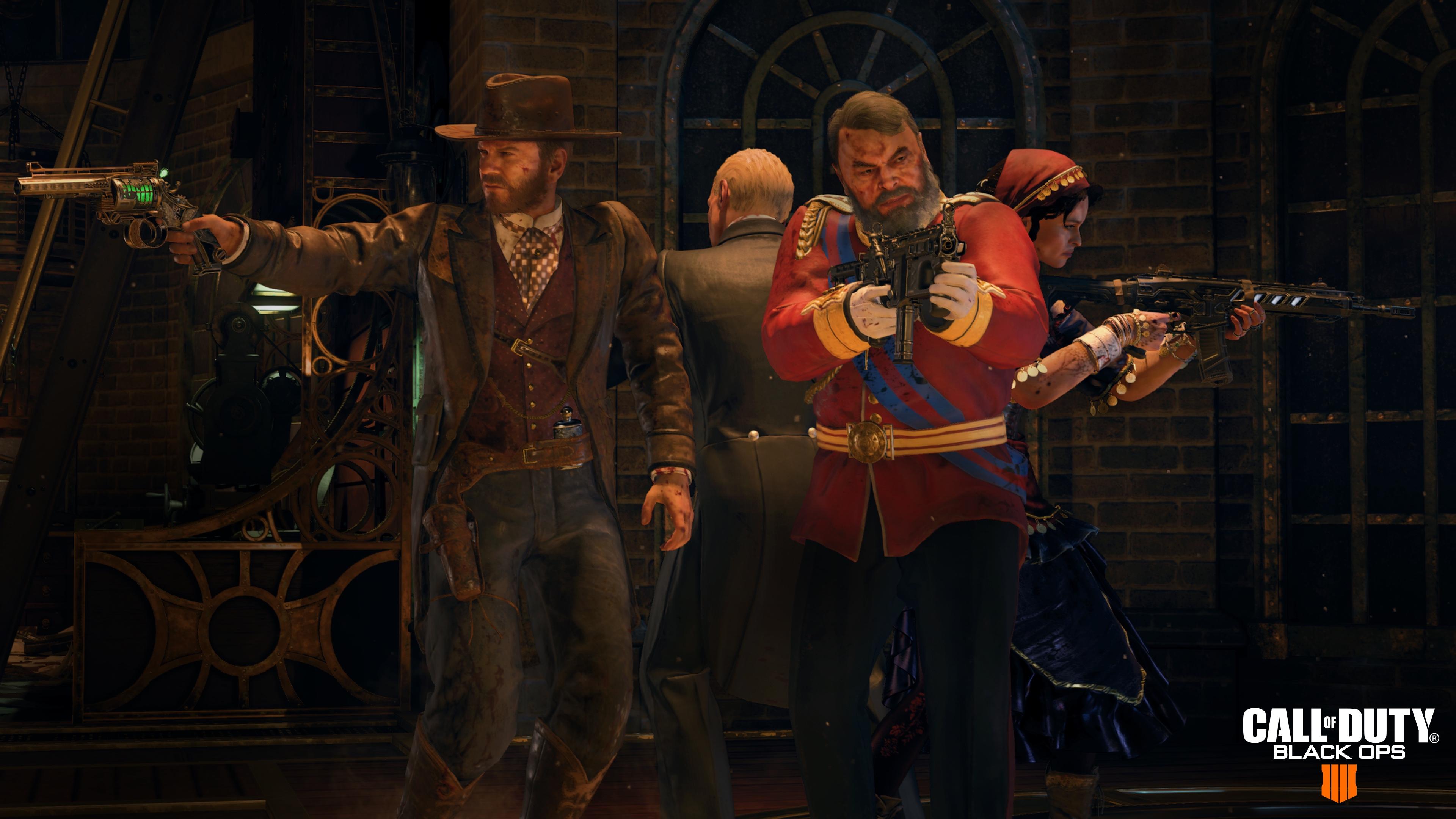 Black Ops 4's new Zombies mode stars Kiefer Sutherland, Helena