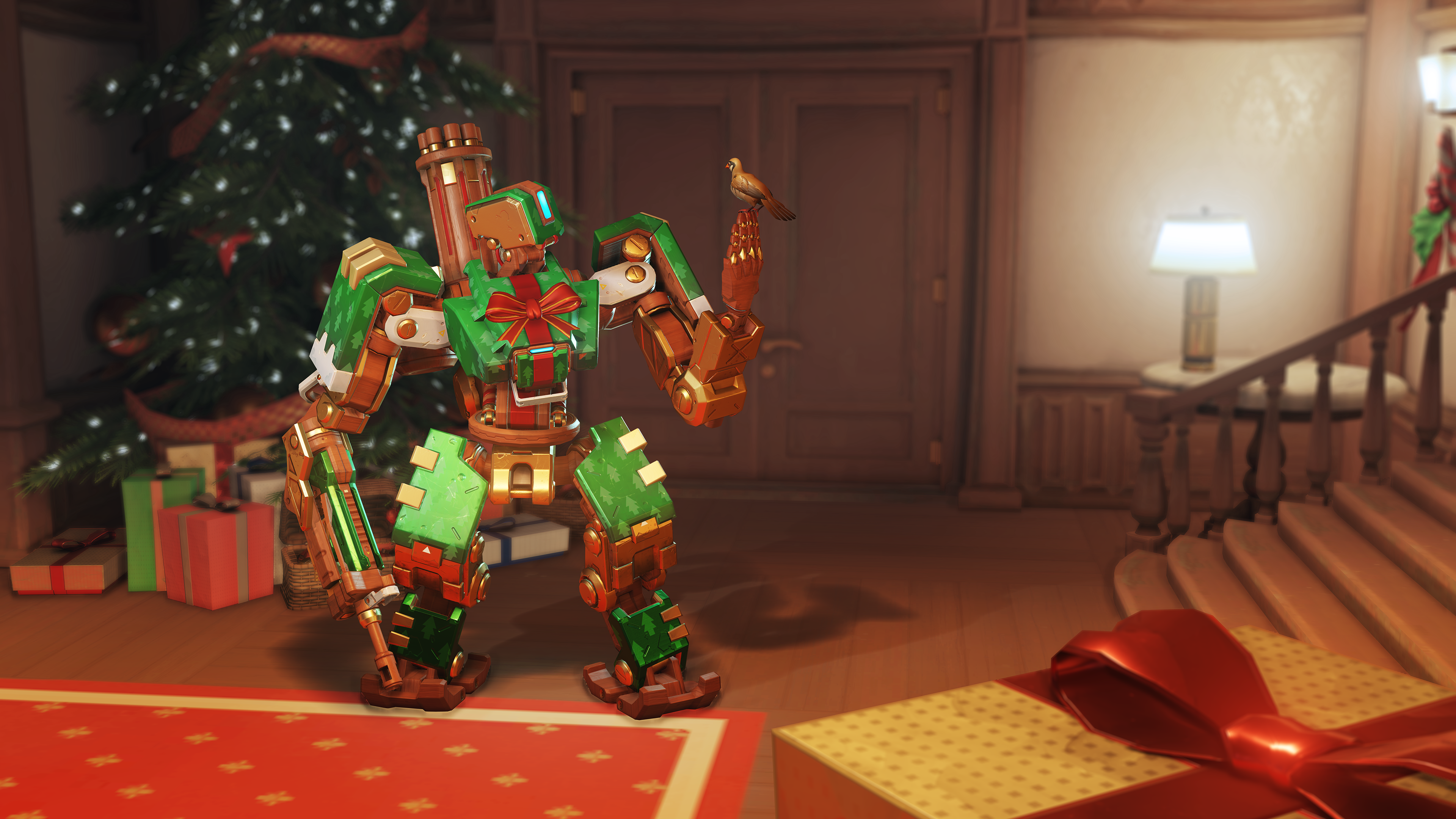 Overwatch - Gift Wrap Bastion