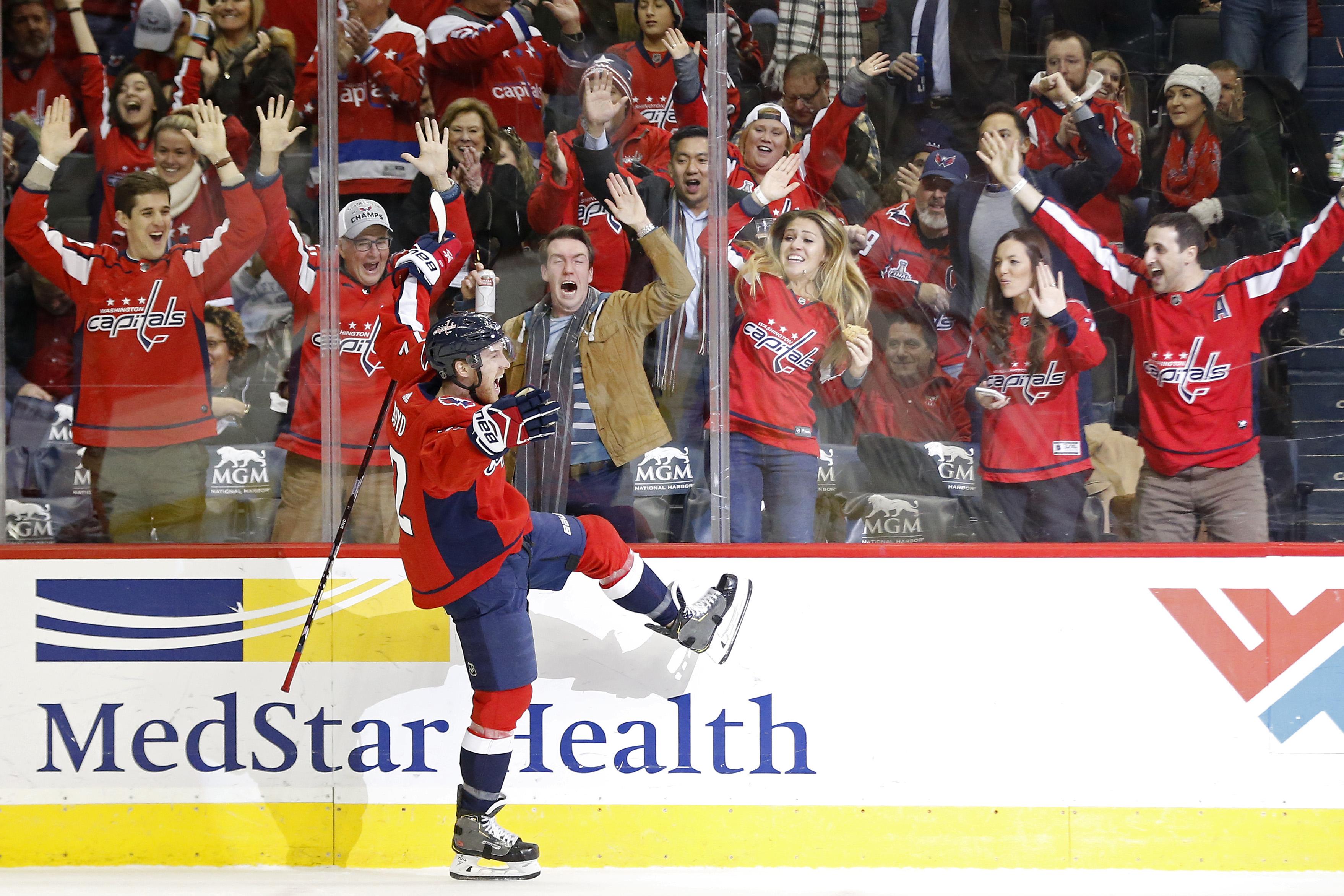 NHL: Detroit Red Wings at Washington Capitals