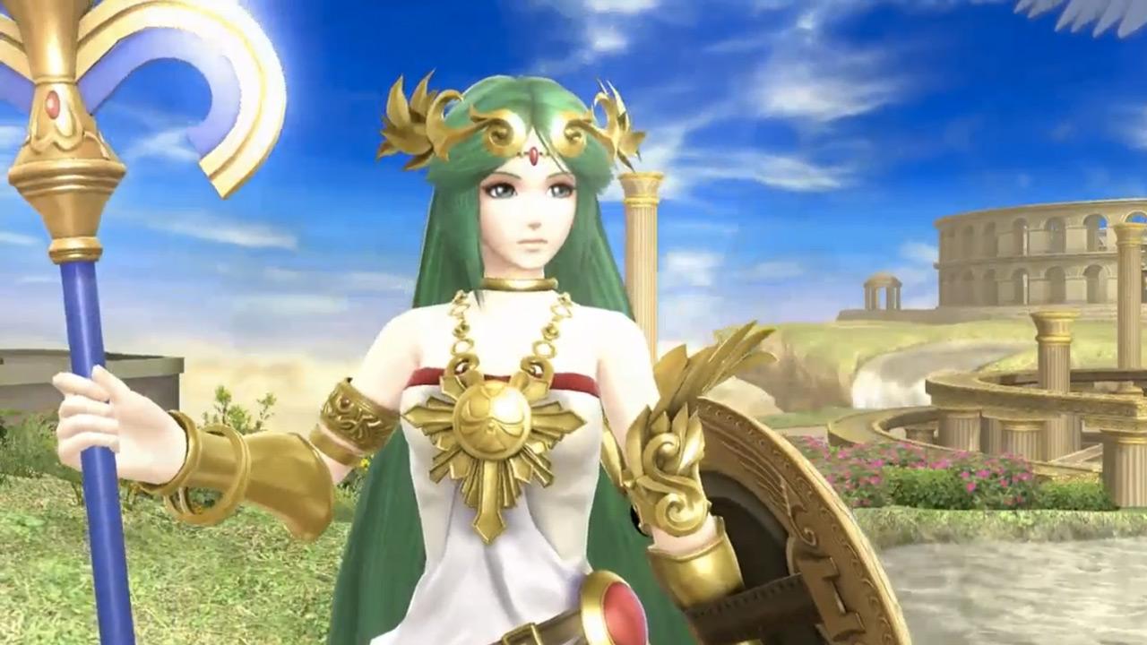 Lady Palutena joins Super Smash Bros.