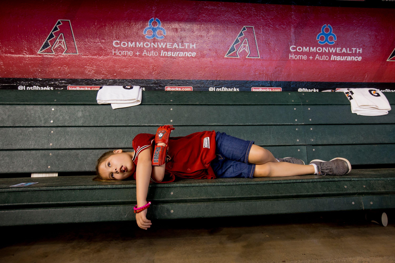 MLB: Hailey Dawson at Arizona Diamondbacks