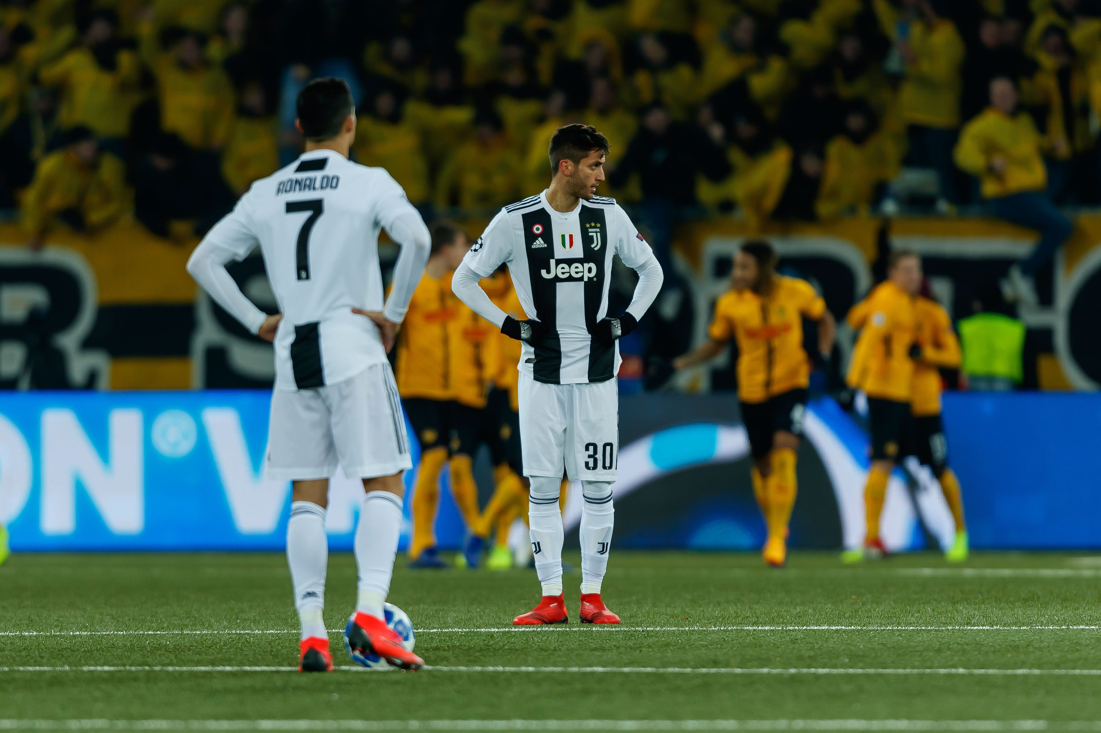 Juve back into Pot 1 in loss to Young Boys - Black & White & Read All Over