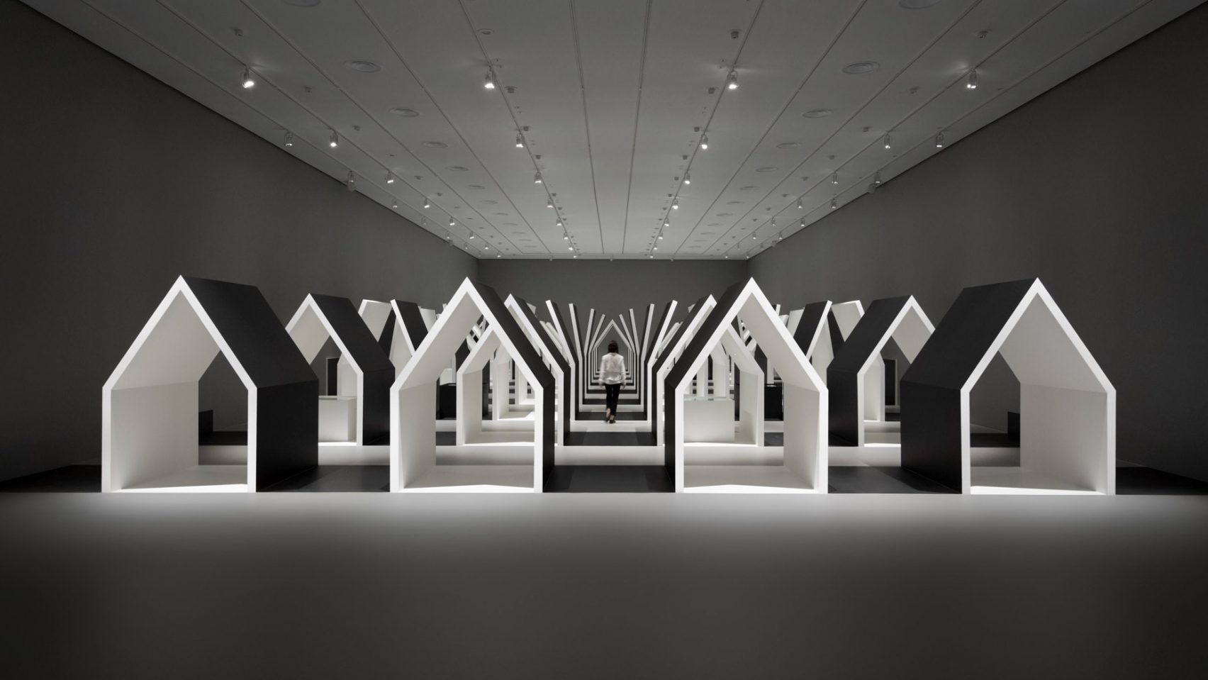 A mind-bending M.C. Escher exhibition designed by Nendo