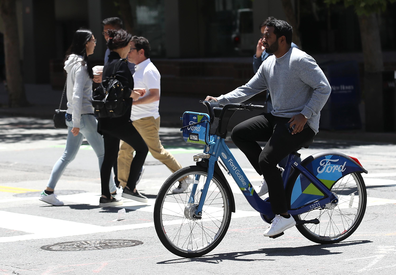 Ford GoBike more than triples its SF electric bike fleet today