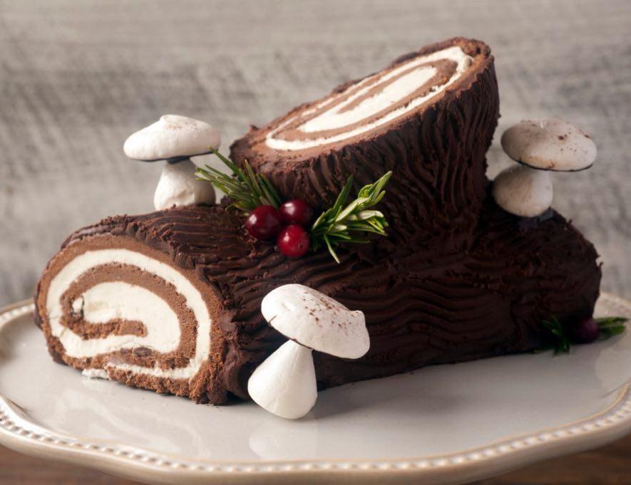 Flour Bakery + Cafe buche de noel
