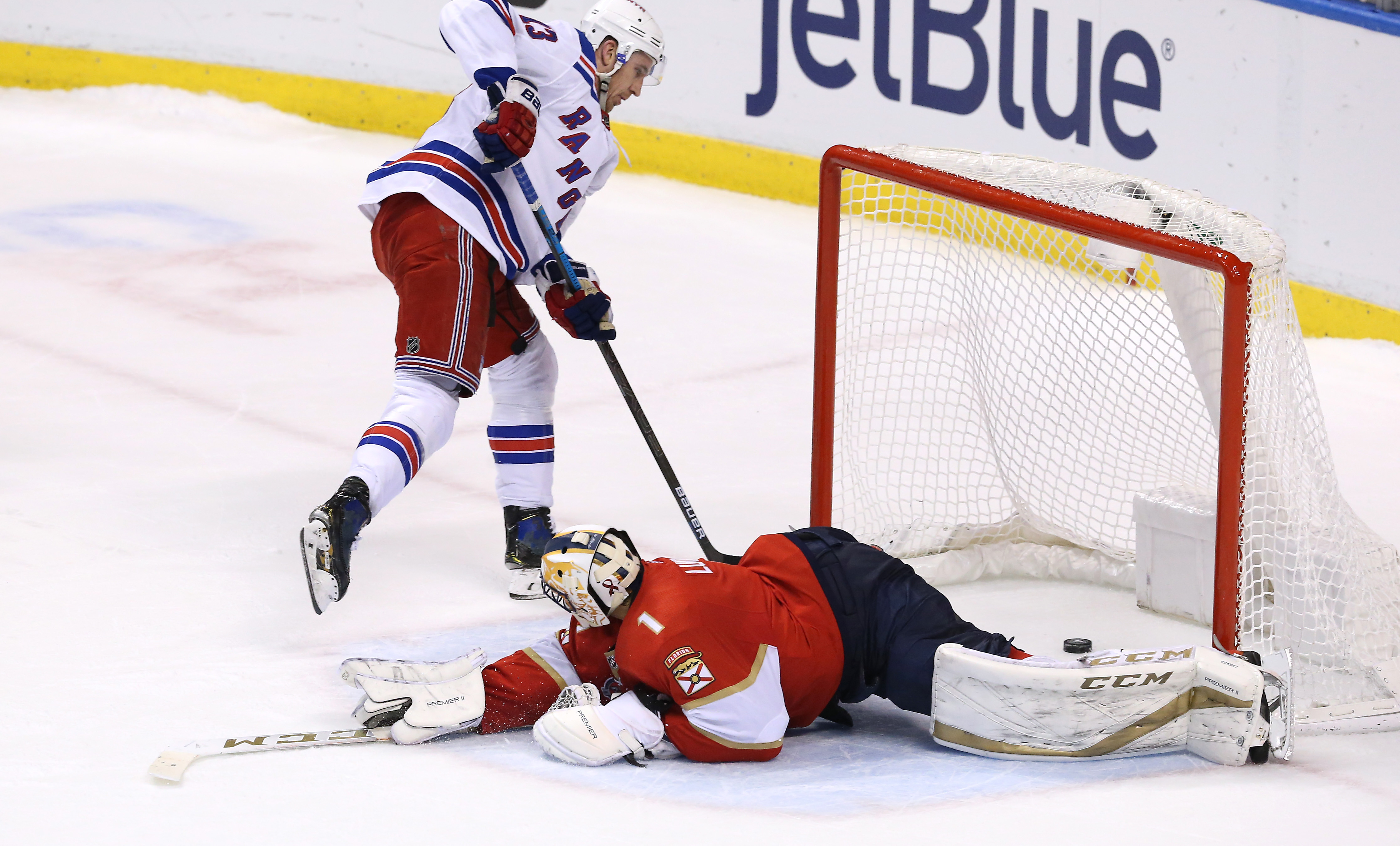 NHL: New York Rangers at Florida Panthers