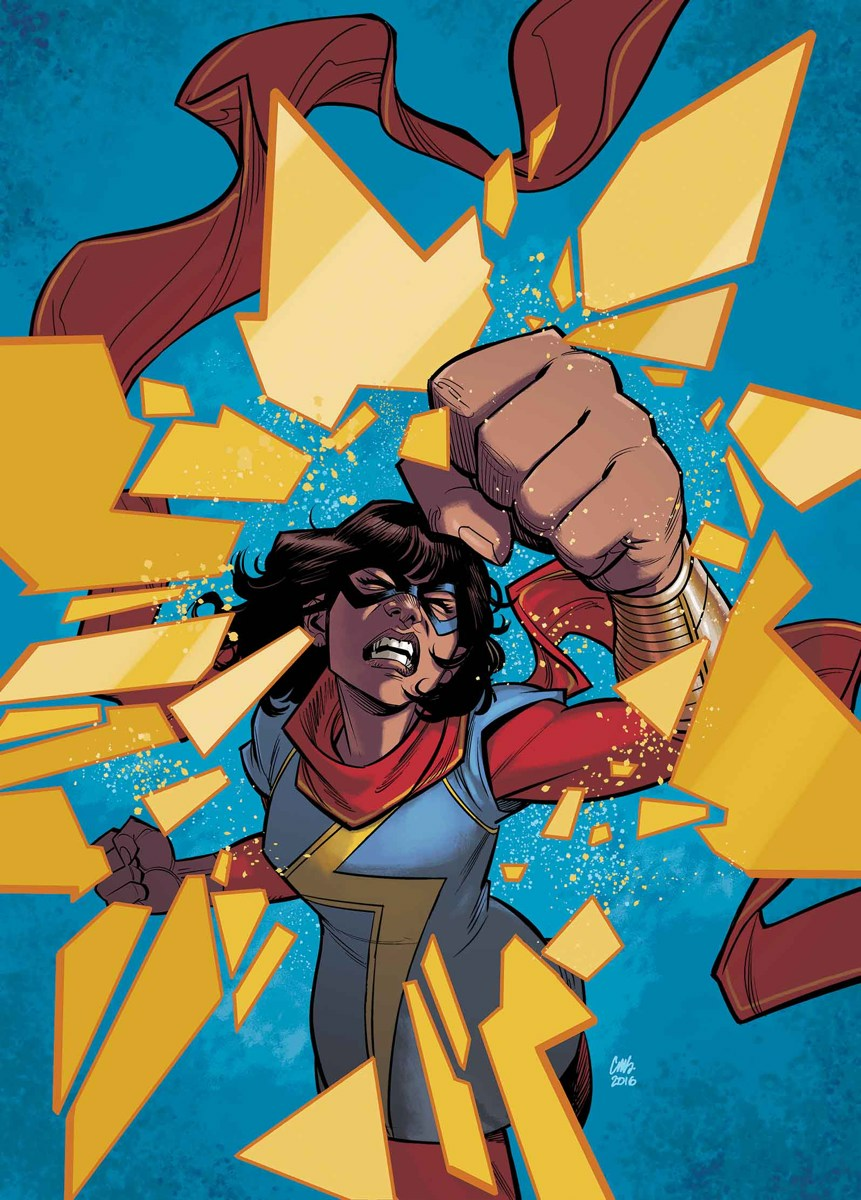 The woman who reinvented Ms. Marvel is stepping down