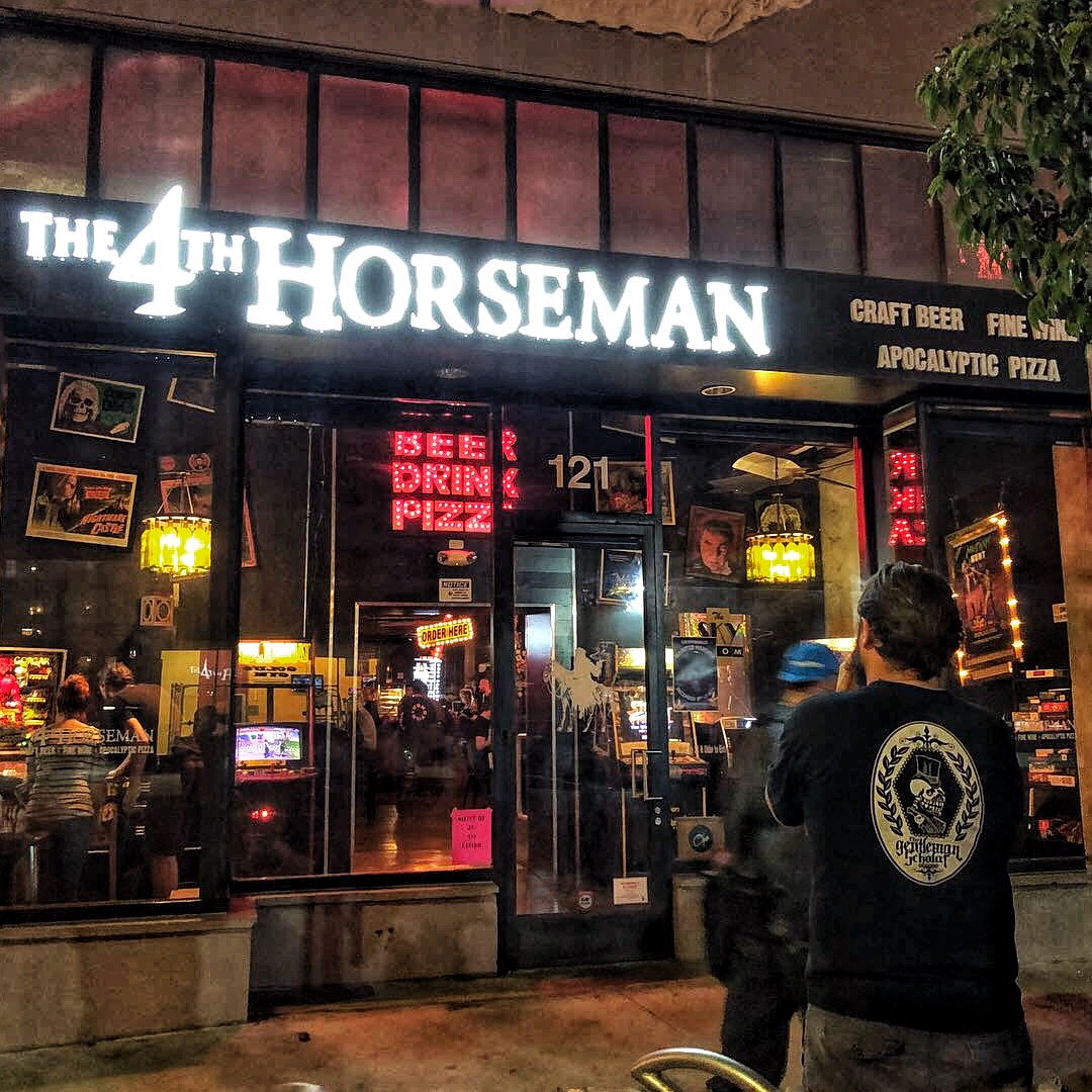 Long Beach Has New Goth-Themed Beer and Pizza Joint Called 4th Horseman