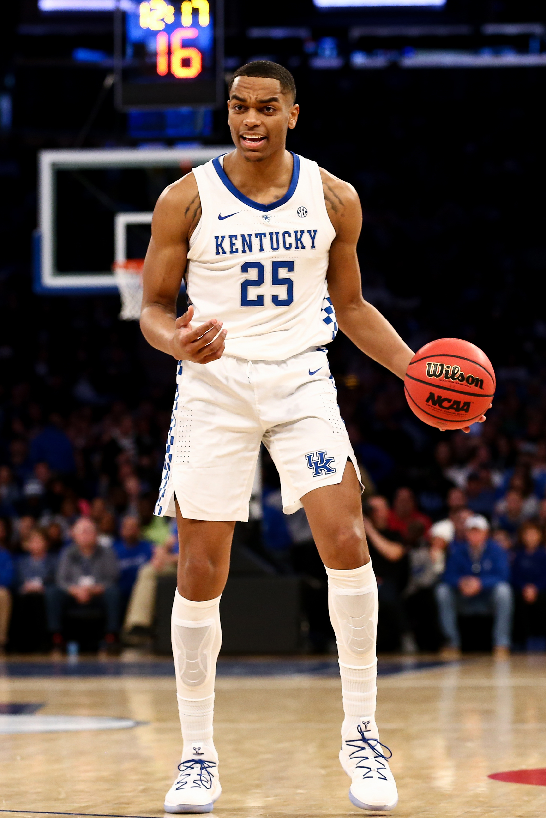 NCAA Basketball: Kentucky at Seton Hall