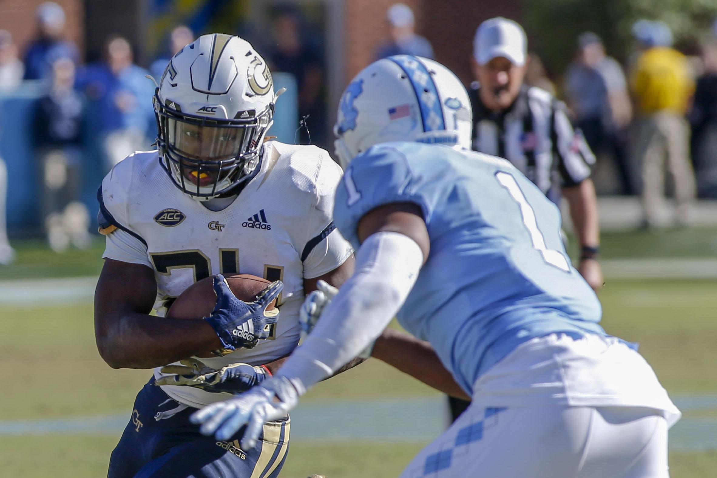 NCAA Football: Georgia Tech at North Carolina