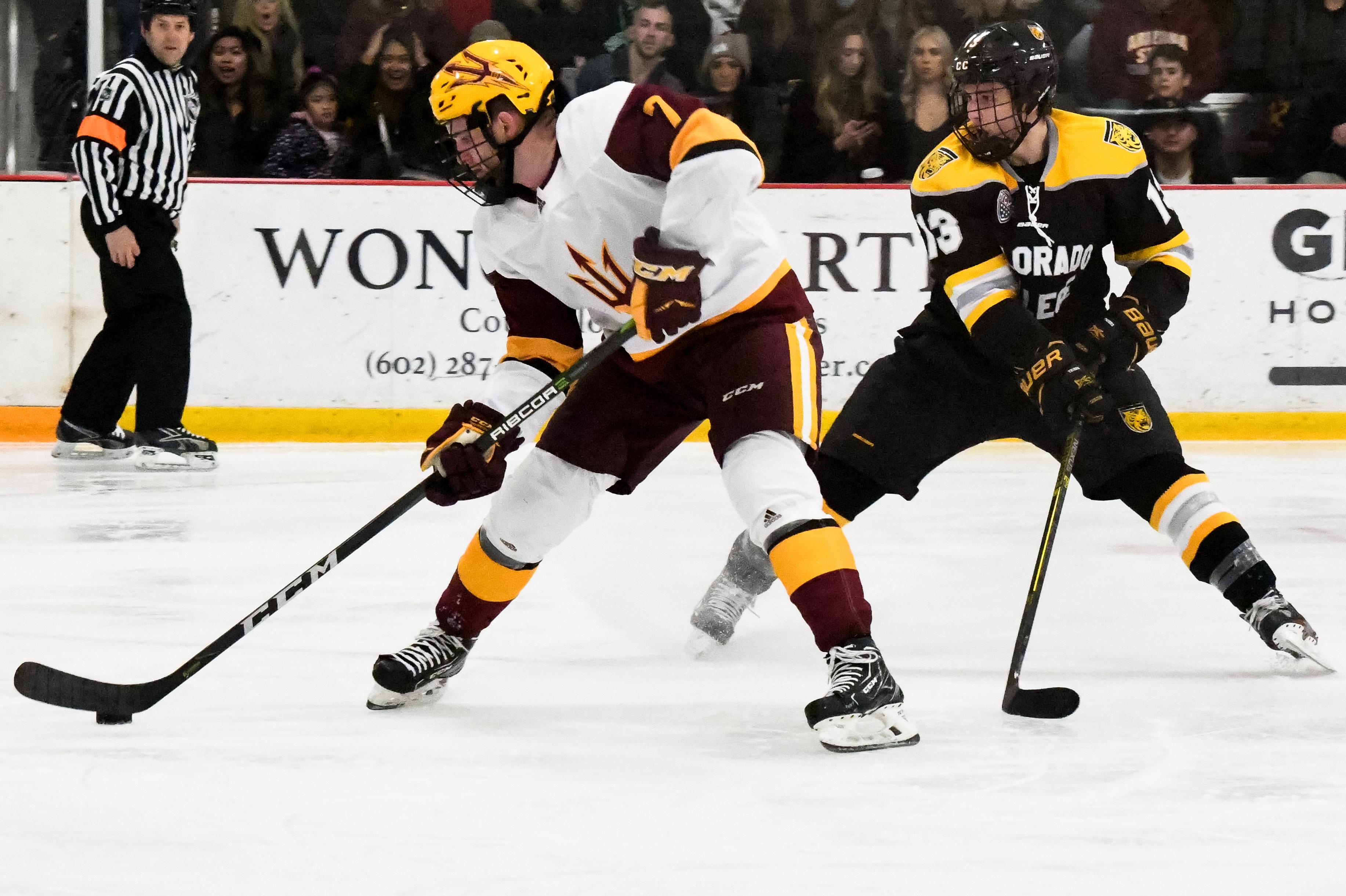 ASU Hockey: No. 15 Sun Devils Sweep Colorado College
