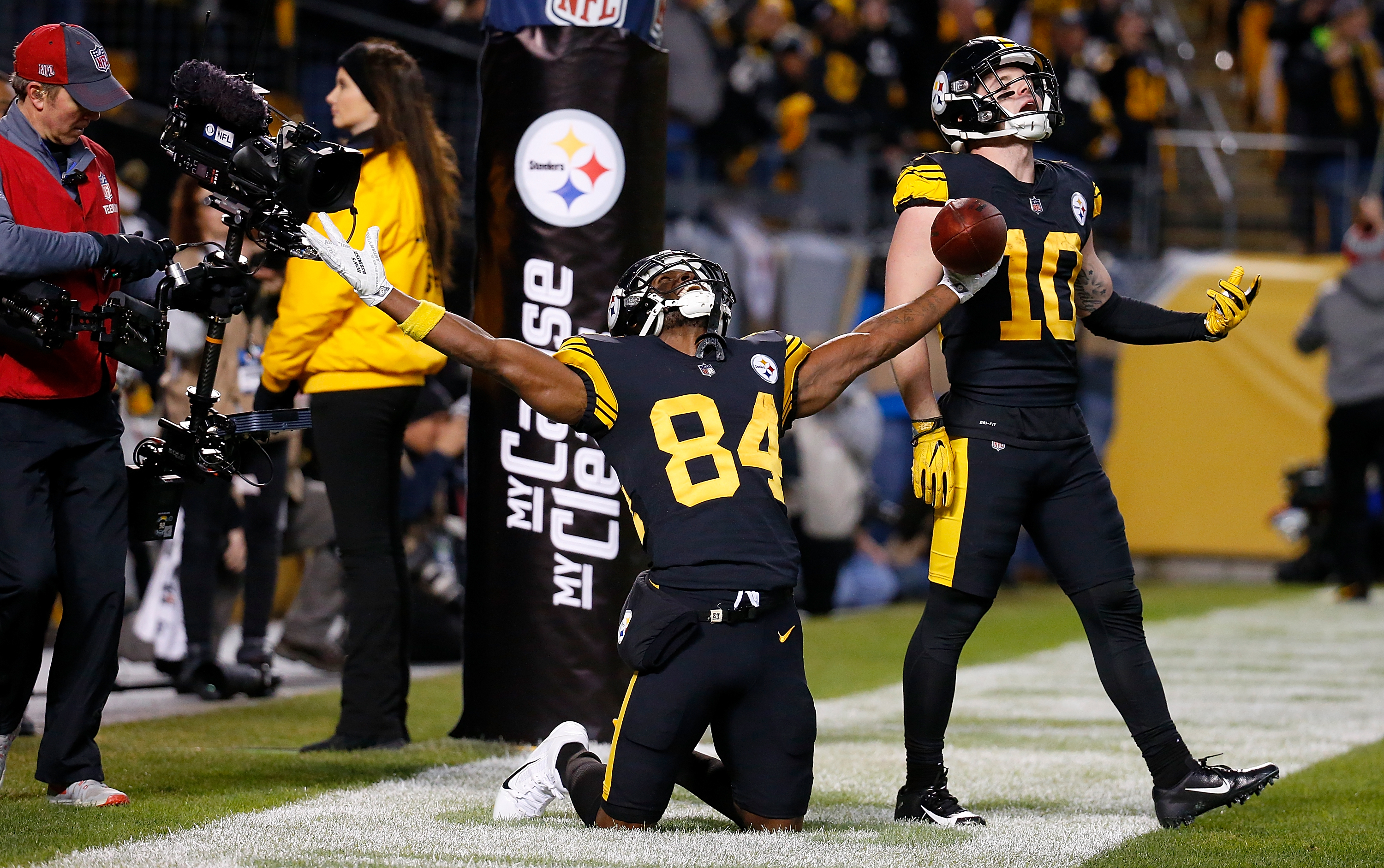 The Steelers FINALLY beat the Patriots