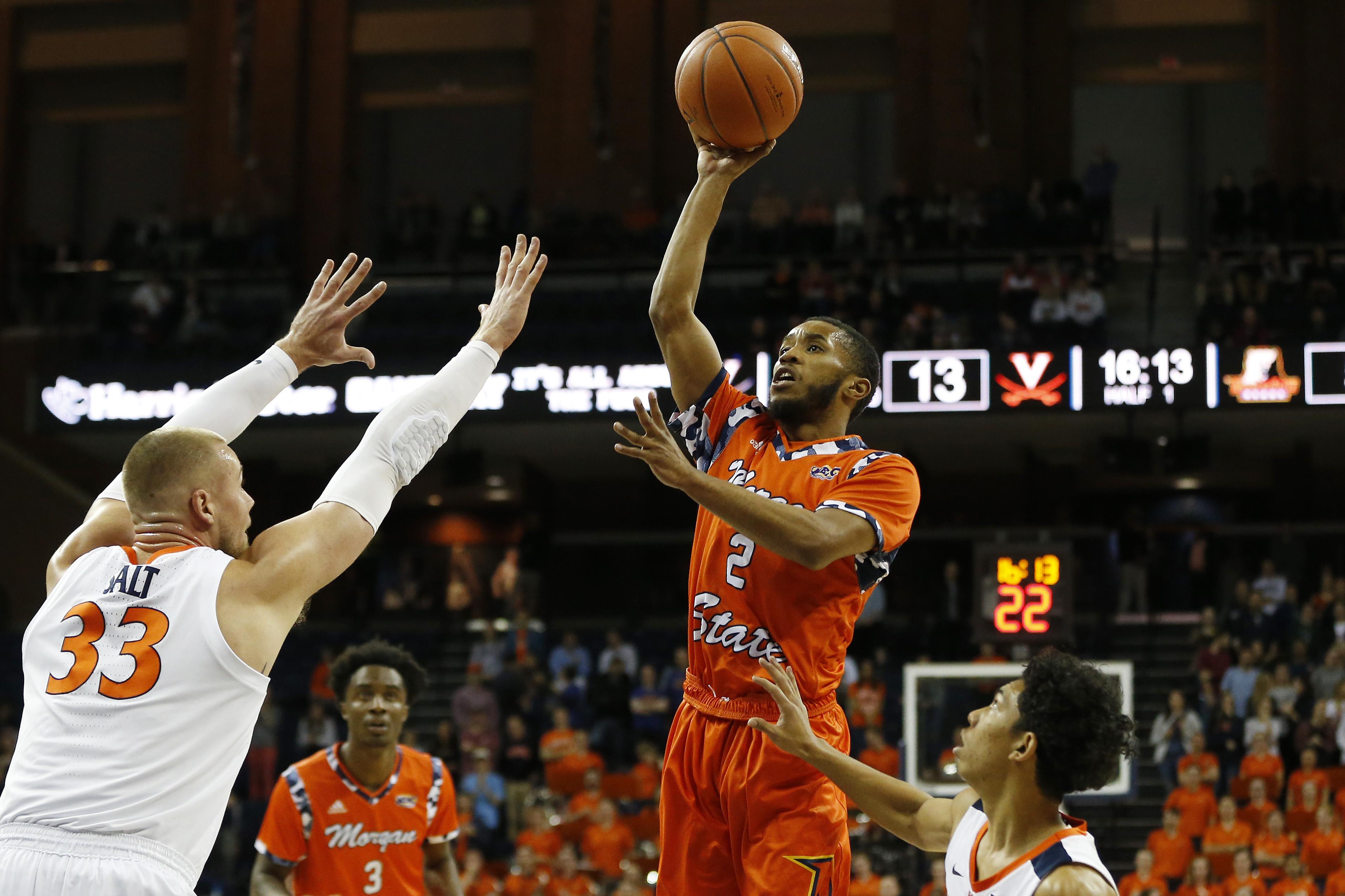 NCAA Basketball: Morgan State at Virginia