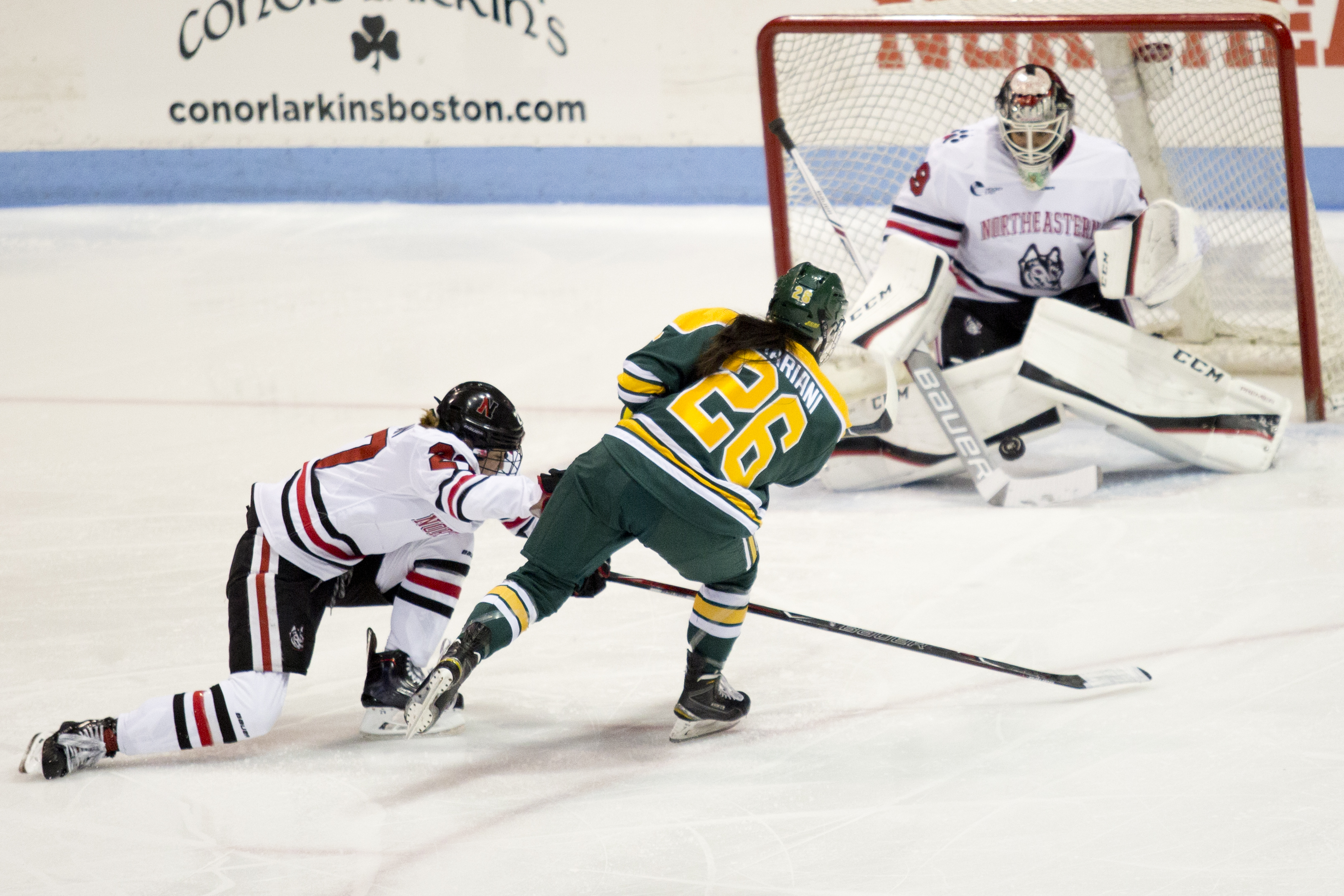 Northeastern And Clarkson Are Playing The First Ever NCAA Women's Hockey Games Outside North America