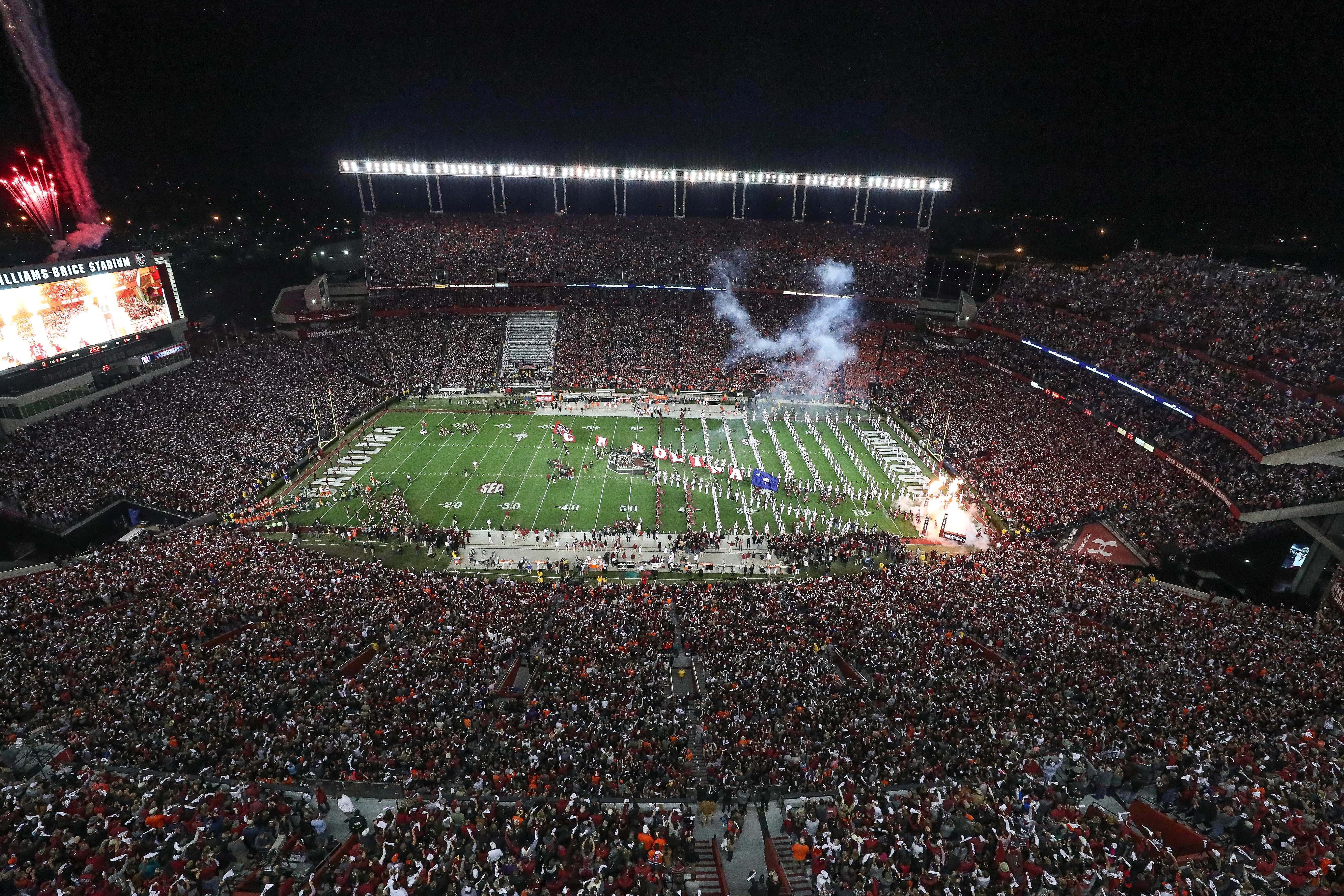 NCAA Football: Clemson at South Carolina