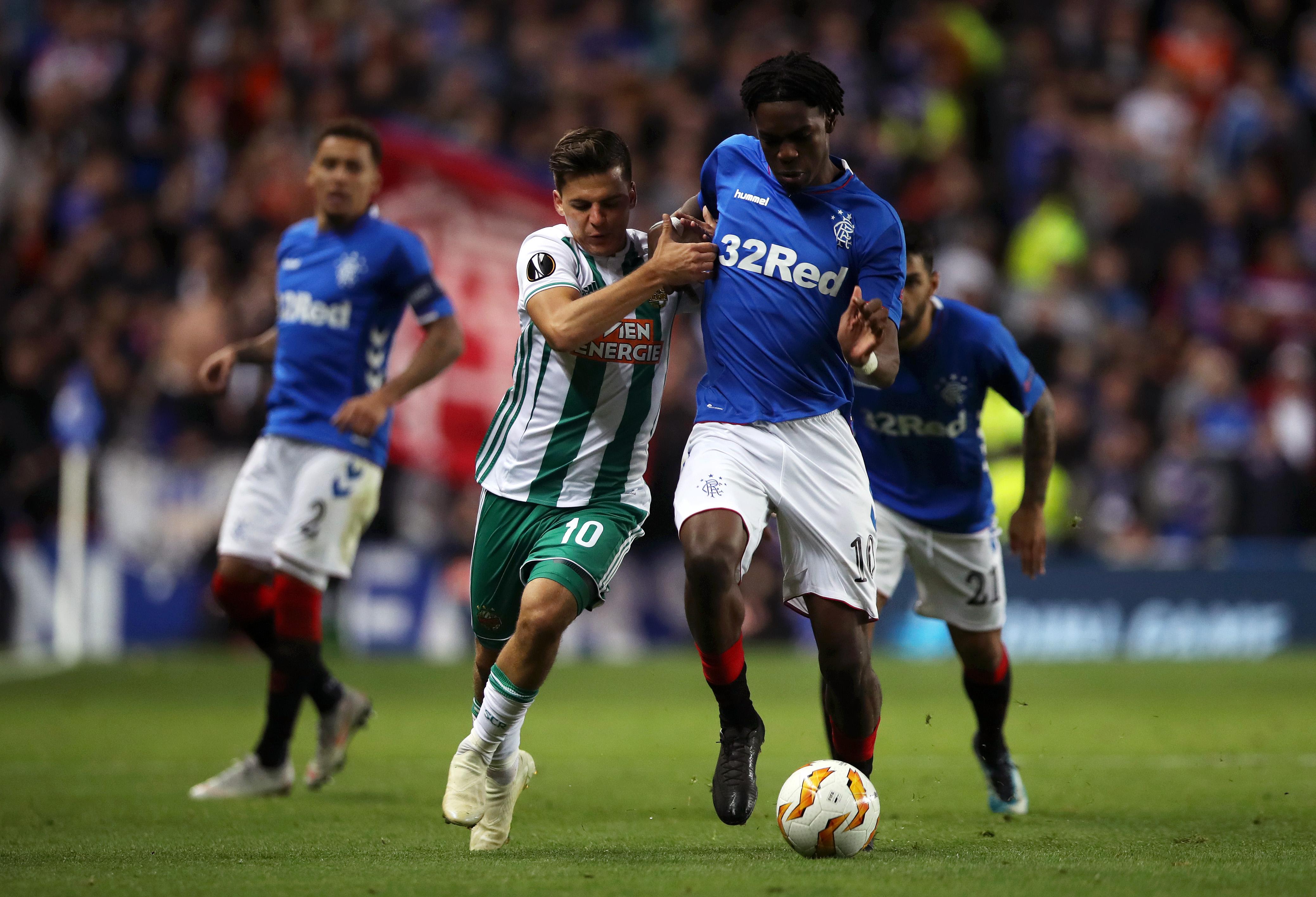 Rangers v SK Rapid Wien - UEFA Europa League
