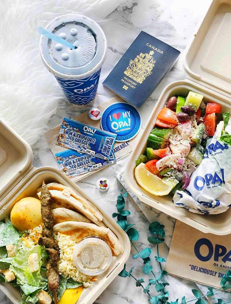 Opa! of Greece Heads to the Strip via Canada