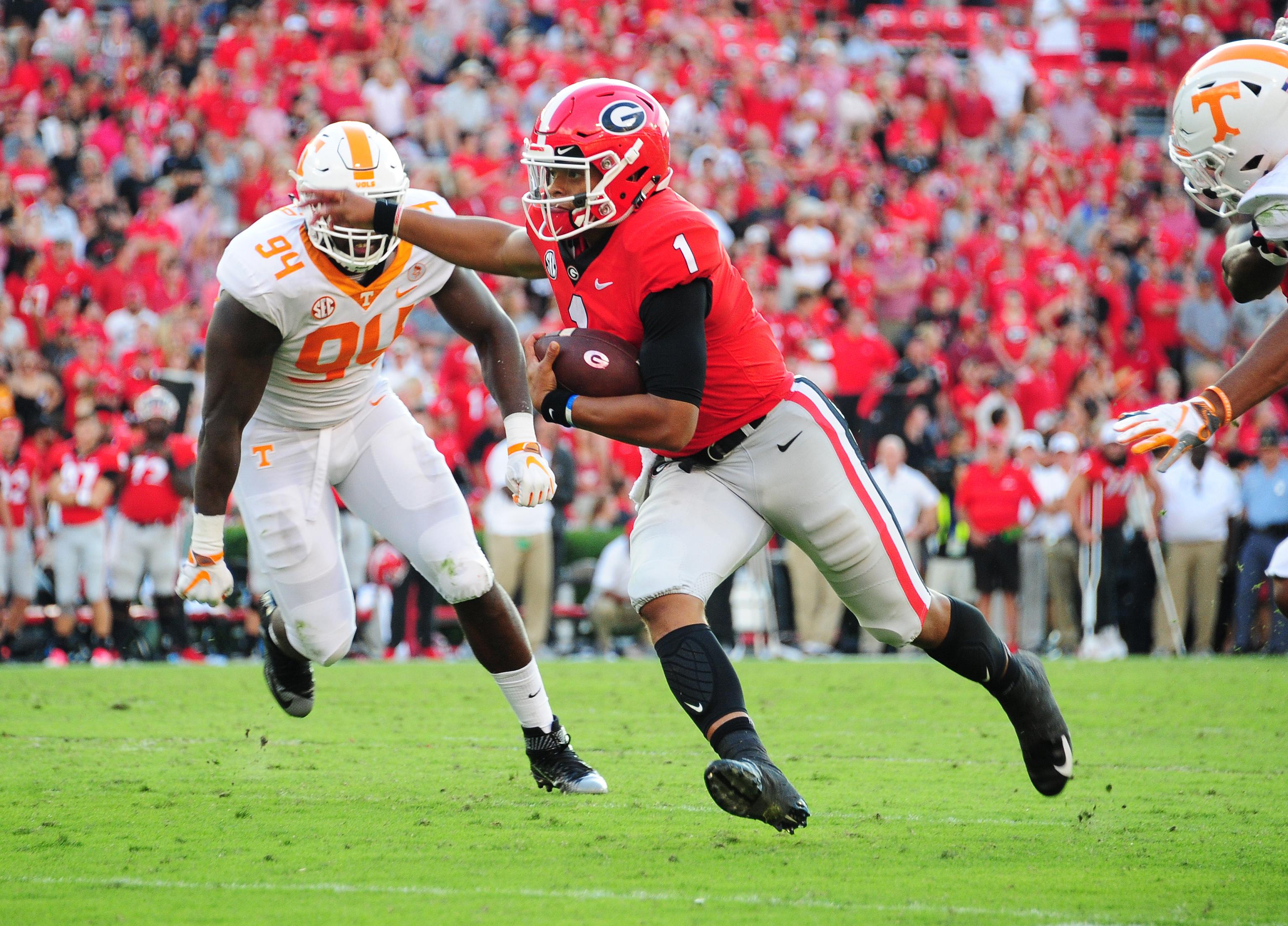 Tennessee v Georgia