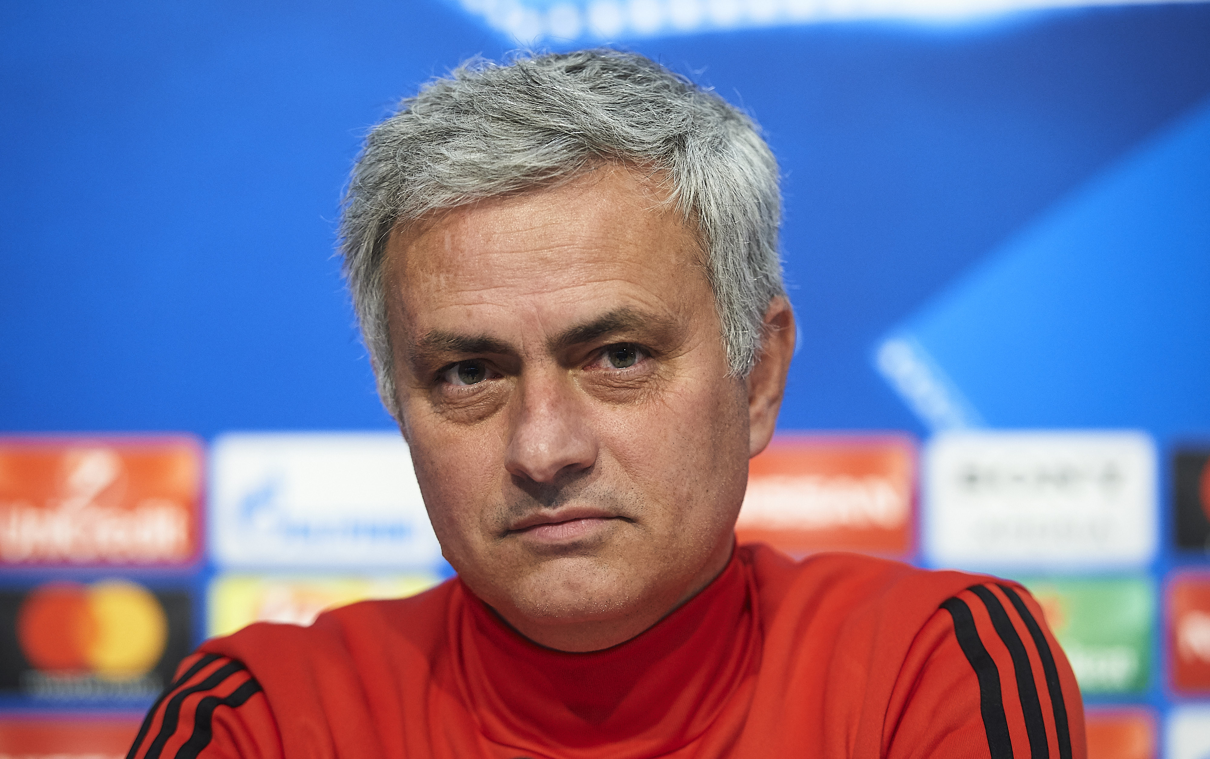 Jose Mourinho in a press conference - Manchester United - Premier League