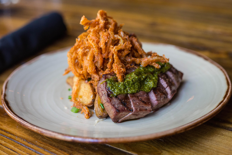 District Kitchen's wagyu steak
