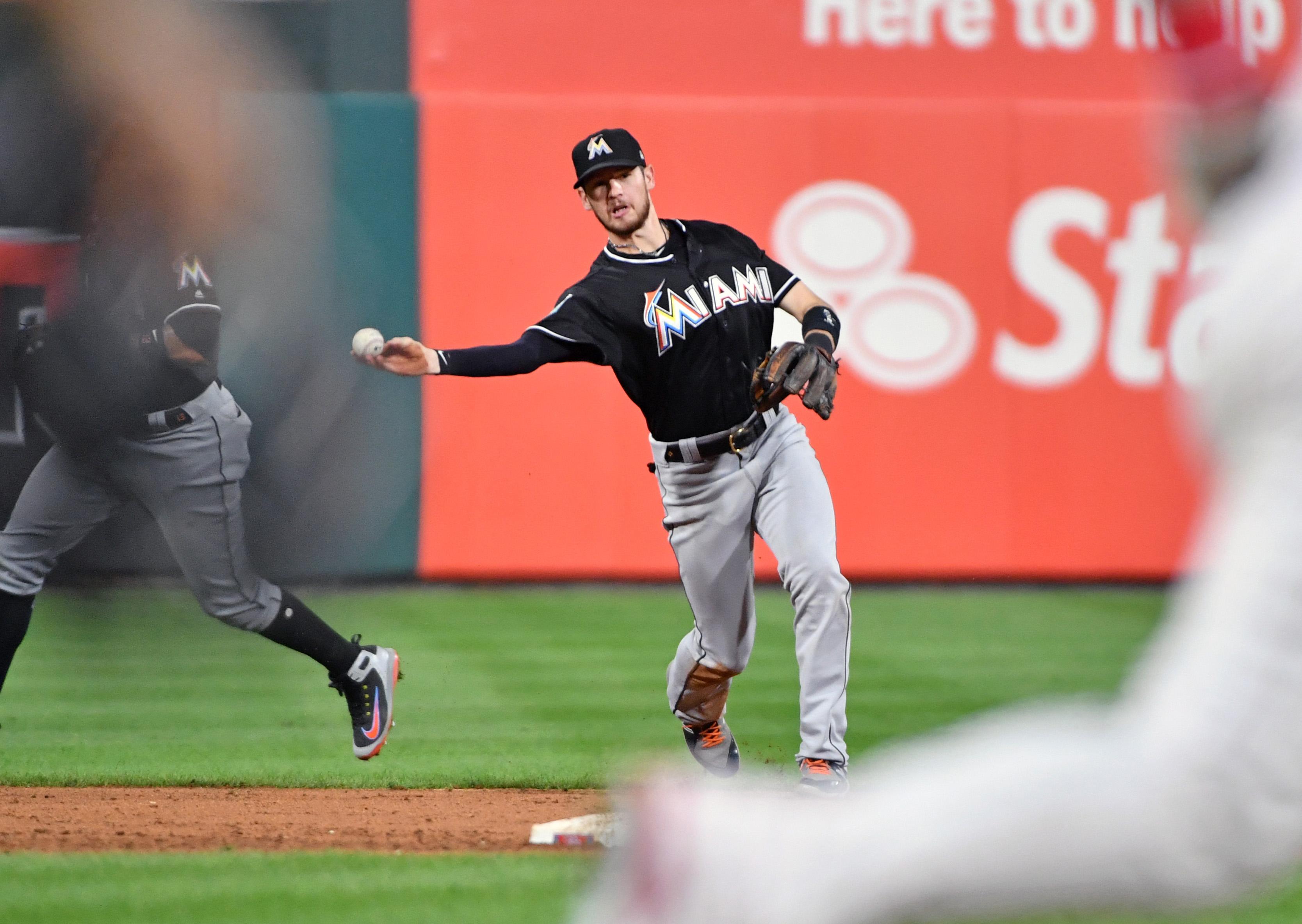 MLB: Miami Marlins at Philadelphia Phillies