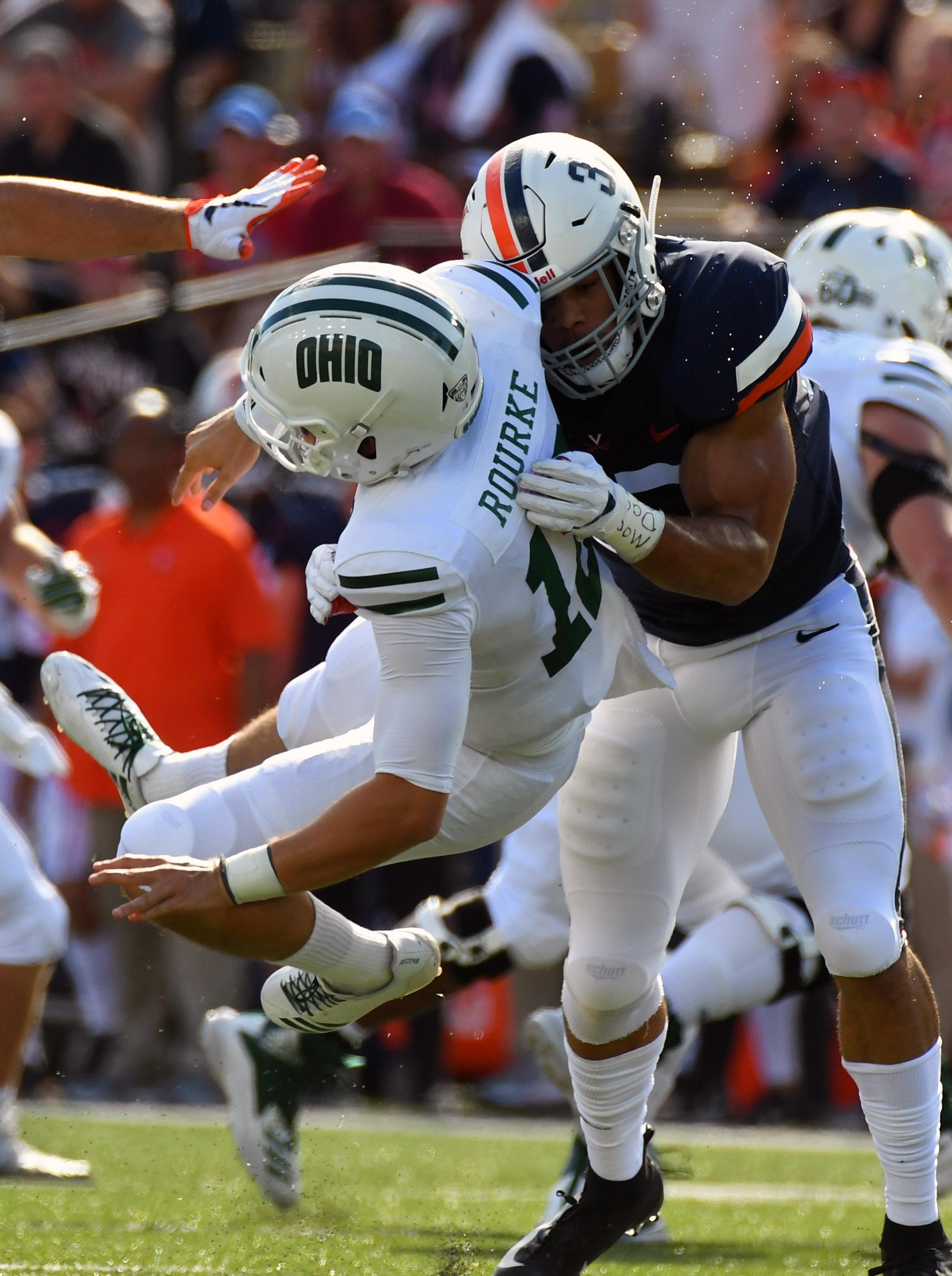 NCAA Football: Virginia vs Ohio