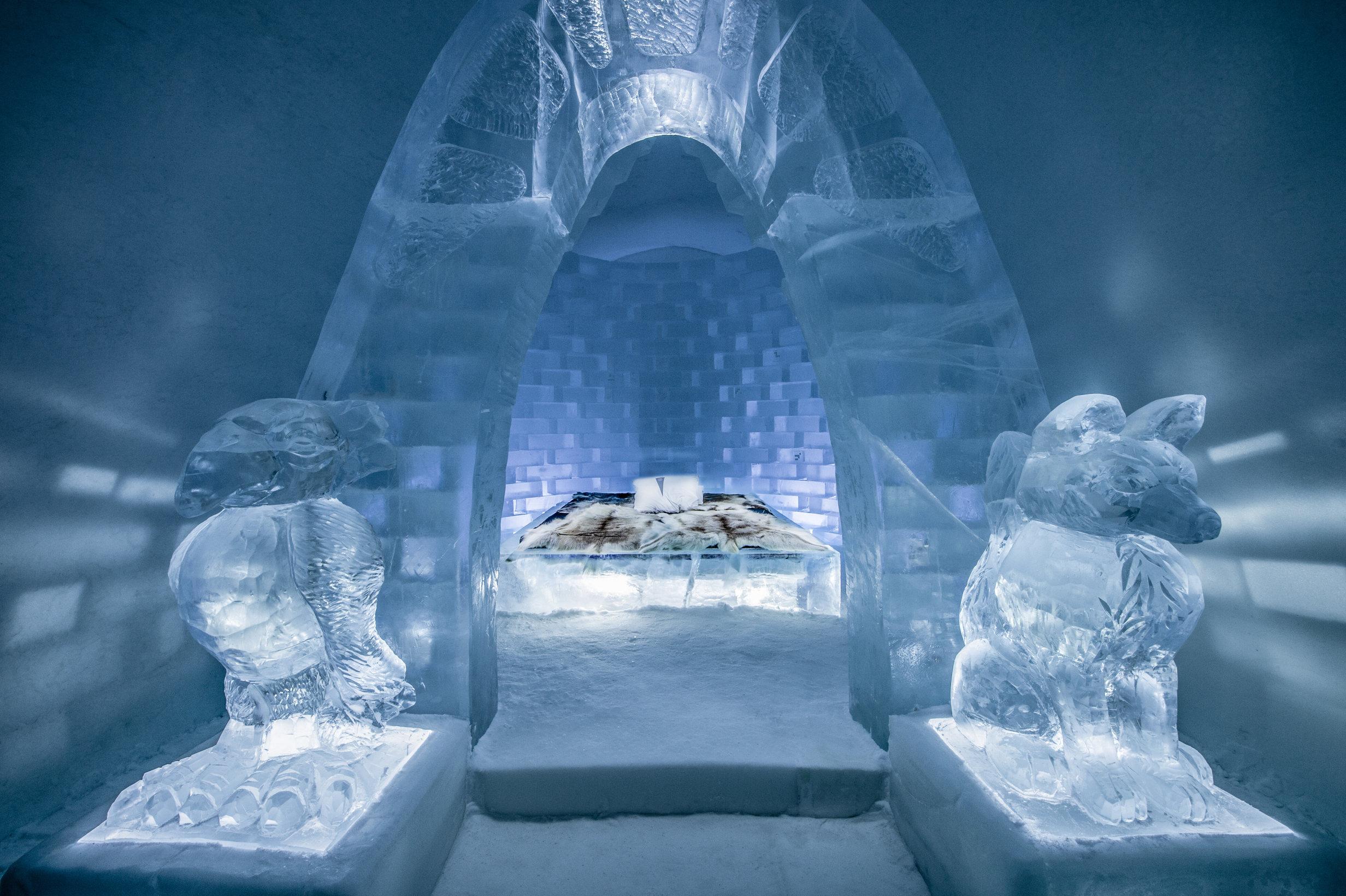 免费吹冷气的酒店?那绝对不可以错过世界上最美的5家冰之酒店啦!