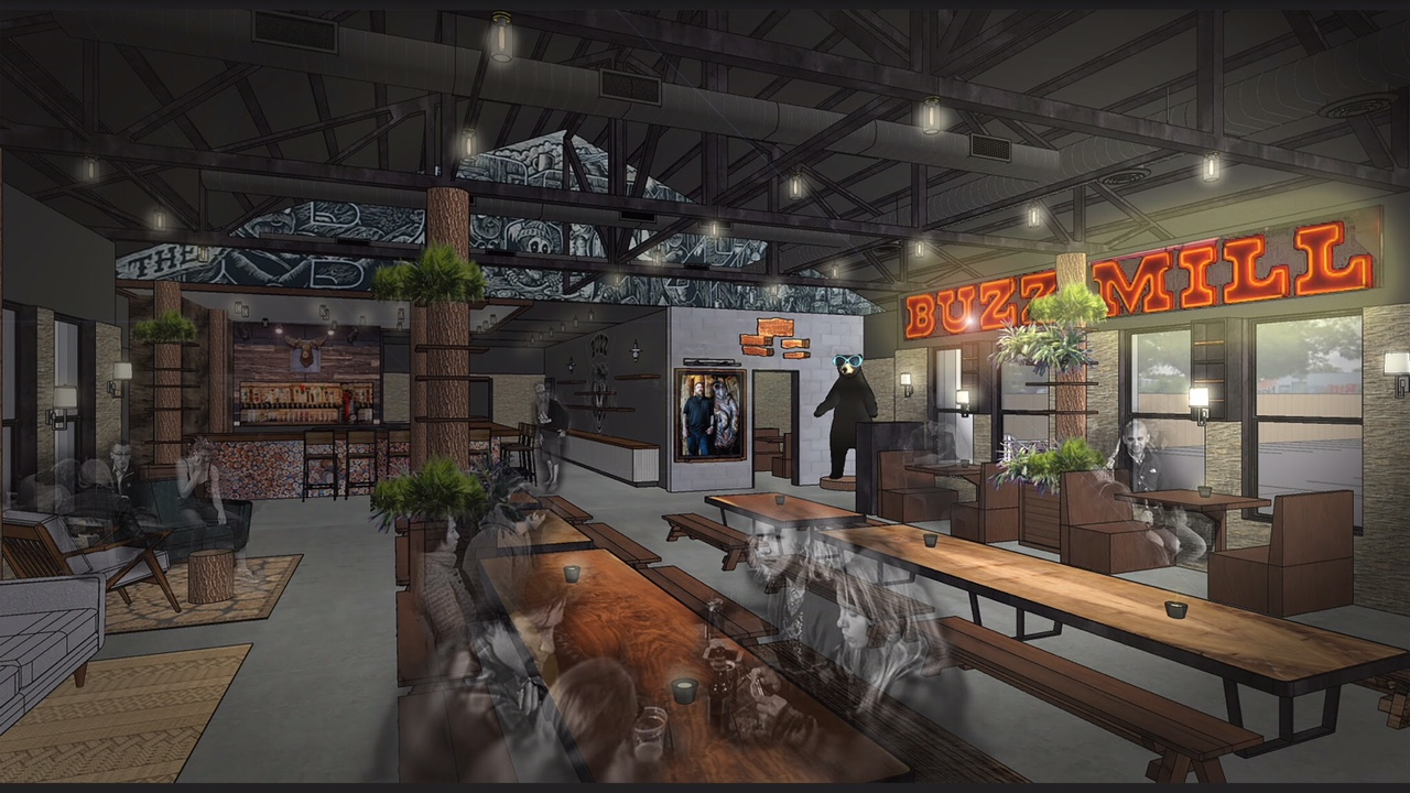 Rendering of Buzz Mill Coffee Shady