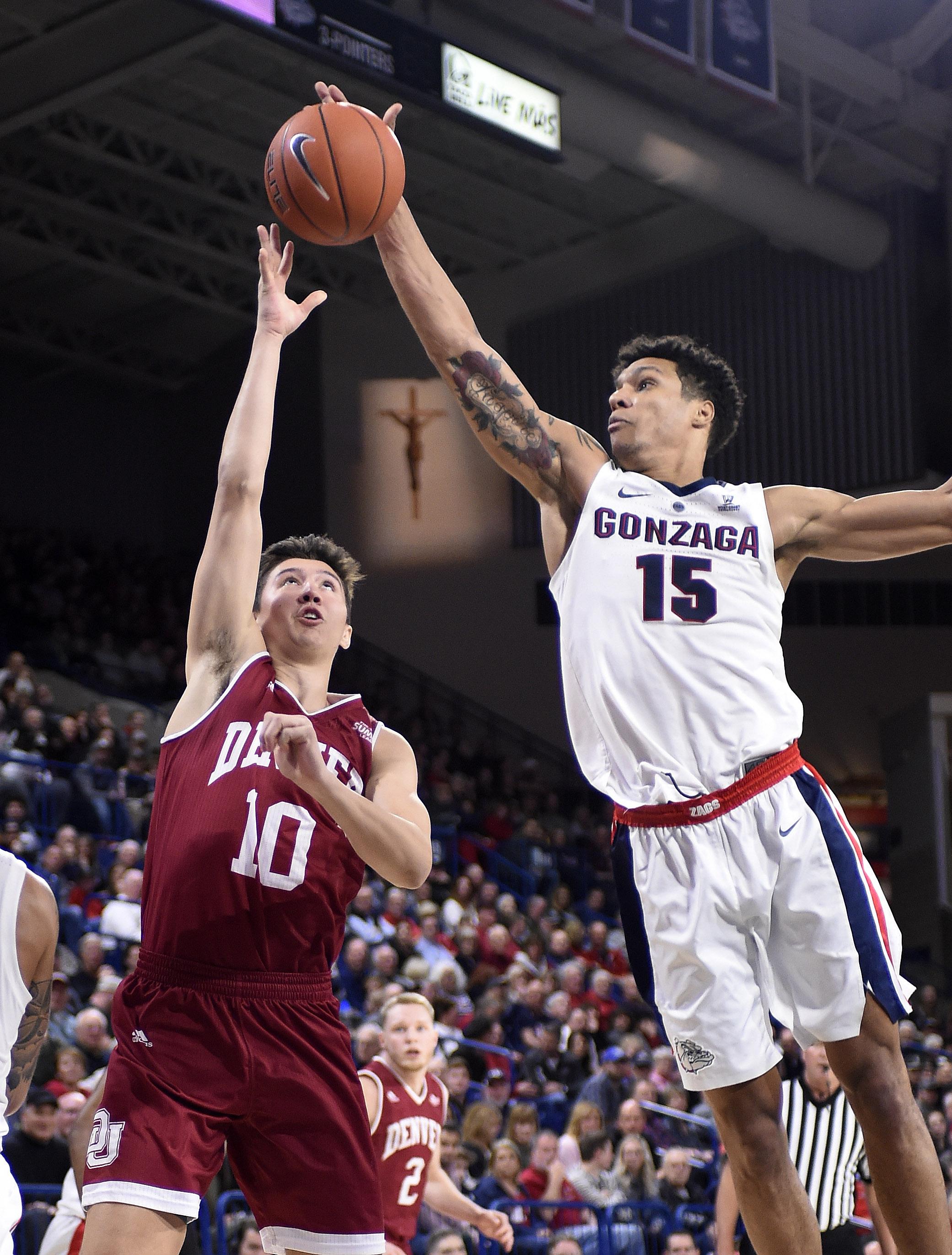 NCAA Basketball: Denver at Gonzaga