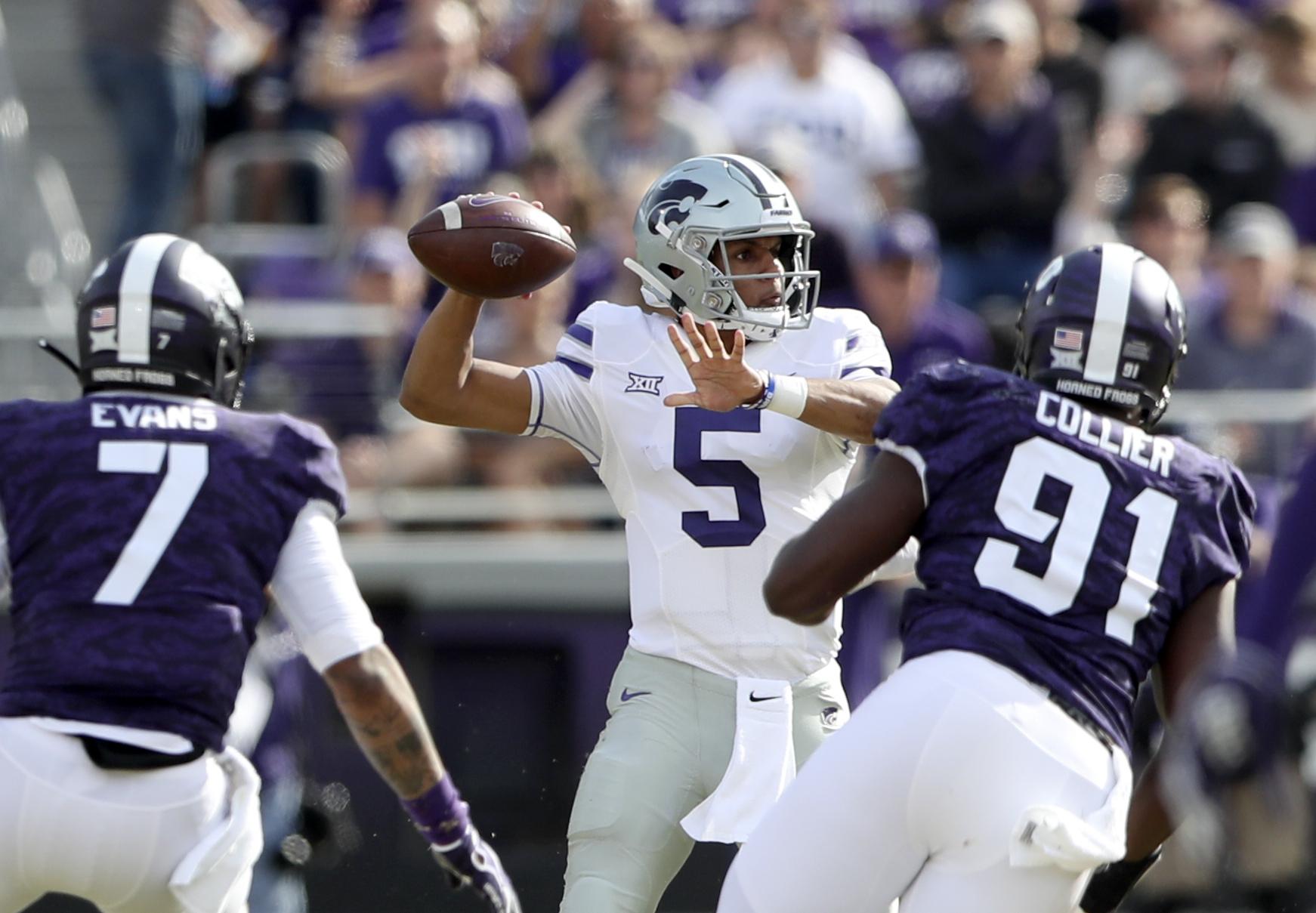 NCAA Football: Kansas State at Texas Christian
