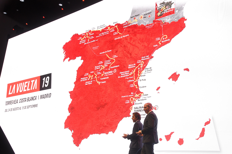 Vuelta 19 Route