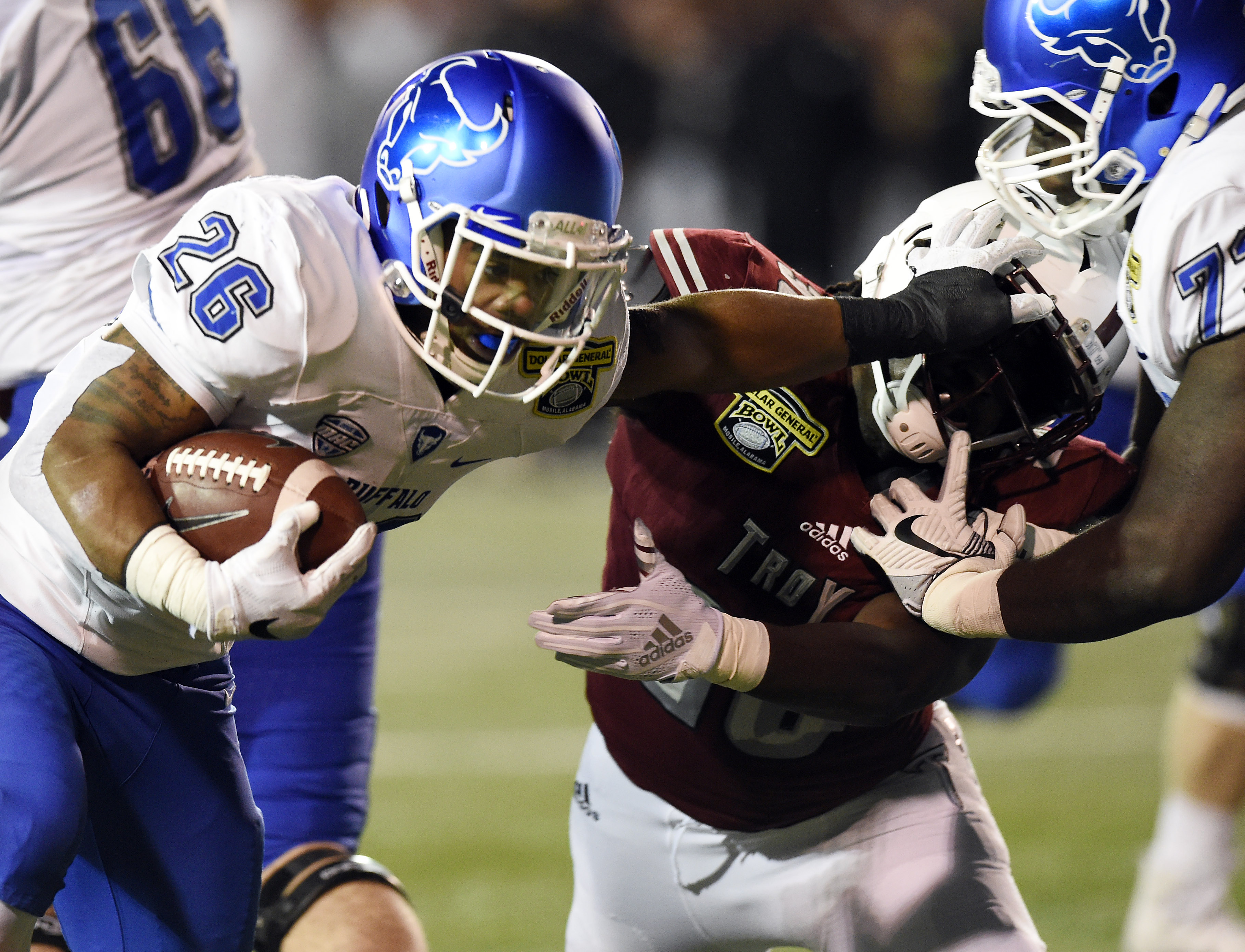 NCAA Football: Dollar General Bowl-Buffalo vs Troy